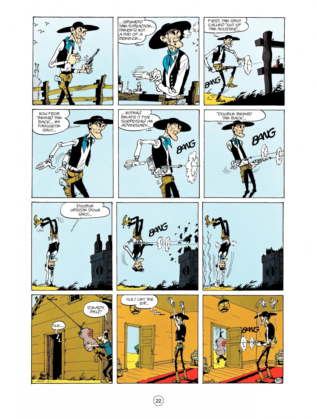 Read online A Lucky Luke Adventure comic -  Issue #40 - 22
