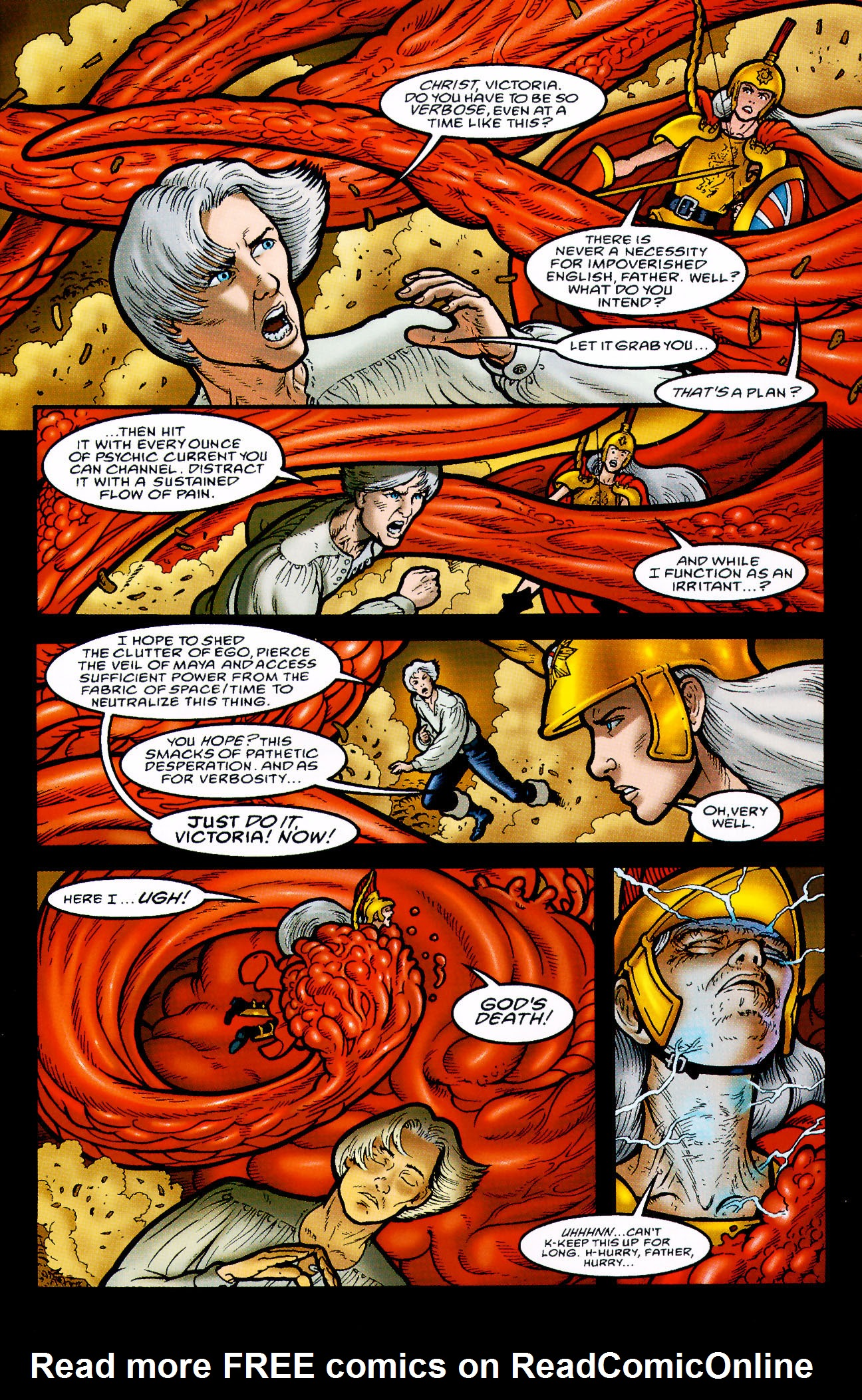 Read online Heart of Empire comic -  Issue #9 - 11