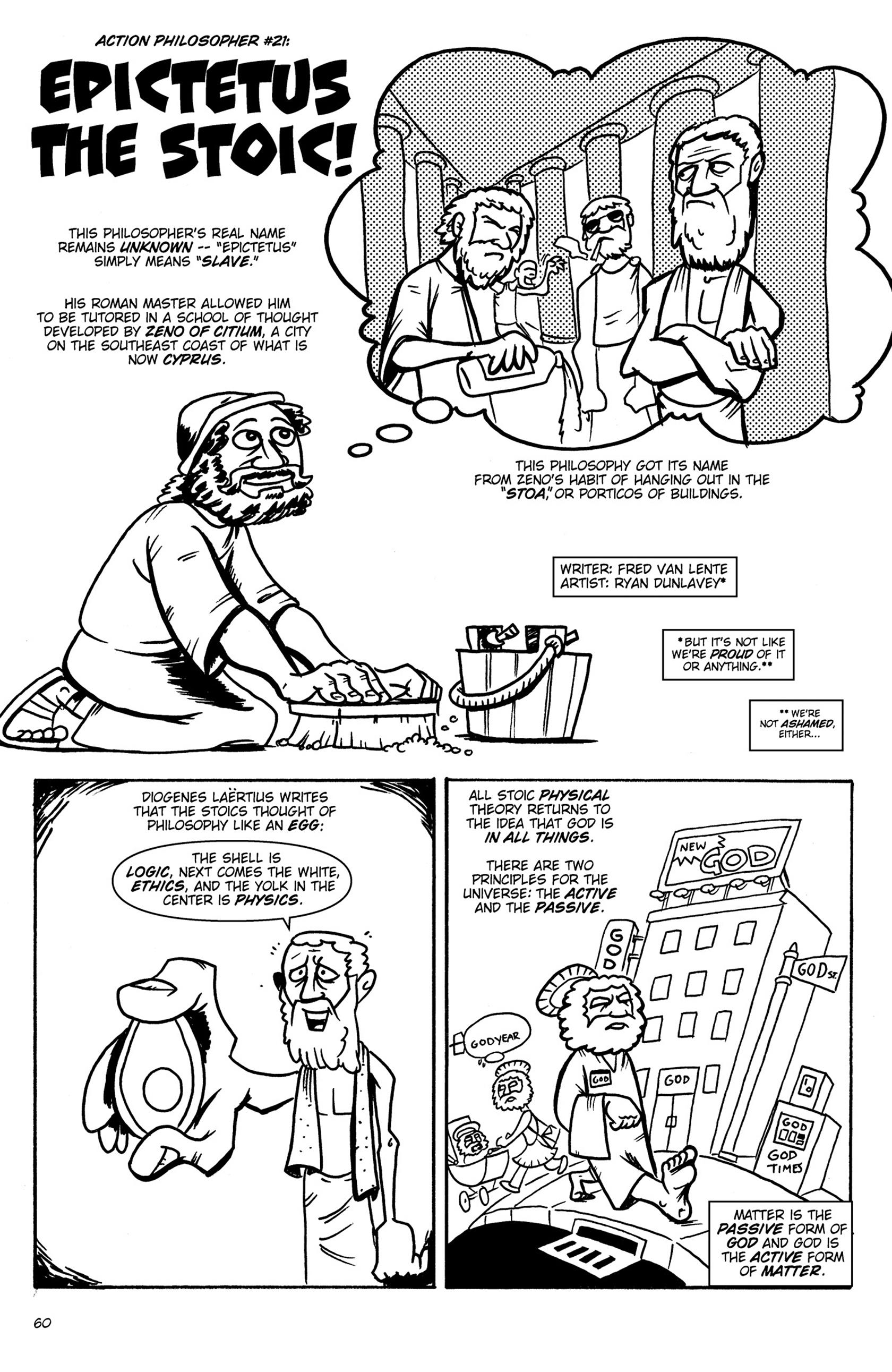 Read online Action Philosophers! comic -  Issue #Action Philosophers! TPB (Part 1) - 60
