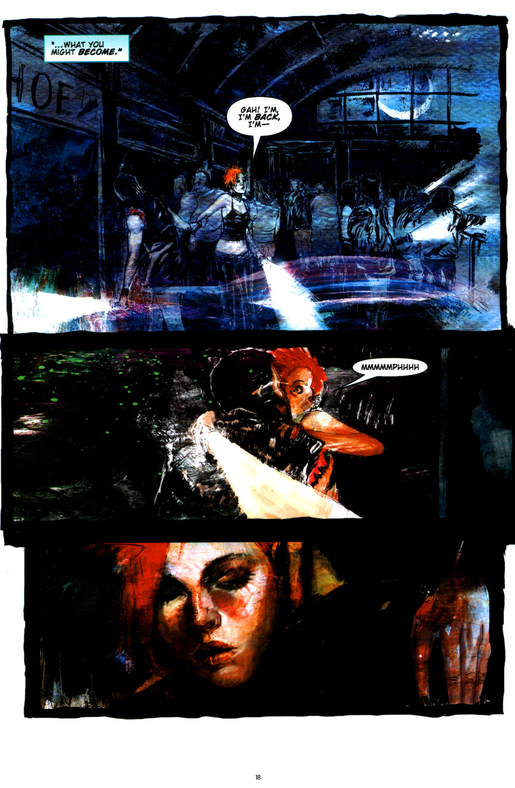 Read online Silent Hill: Dying Inside comic -  Issue #3 - 16