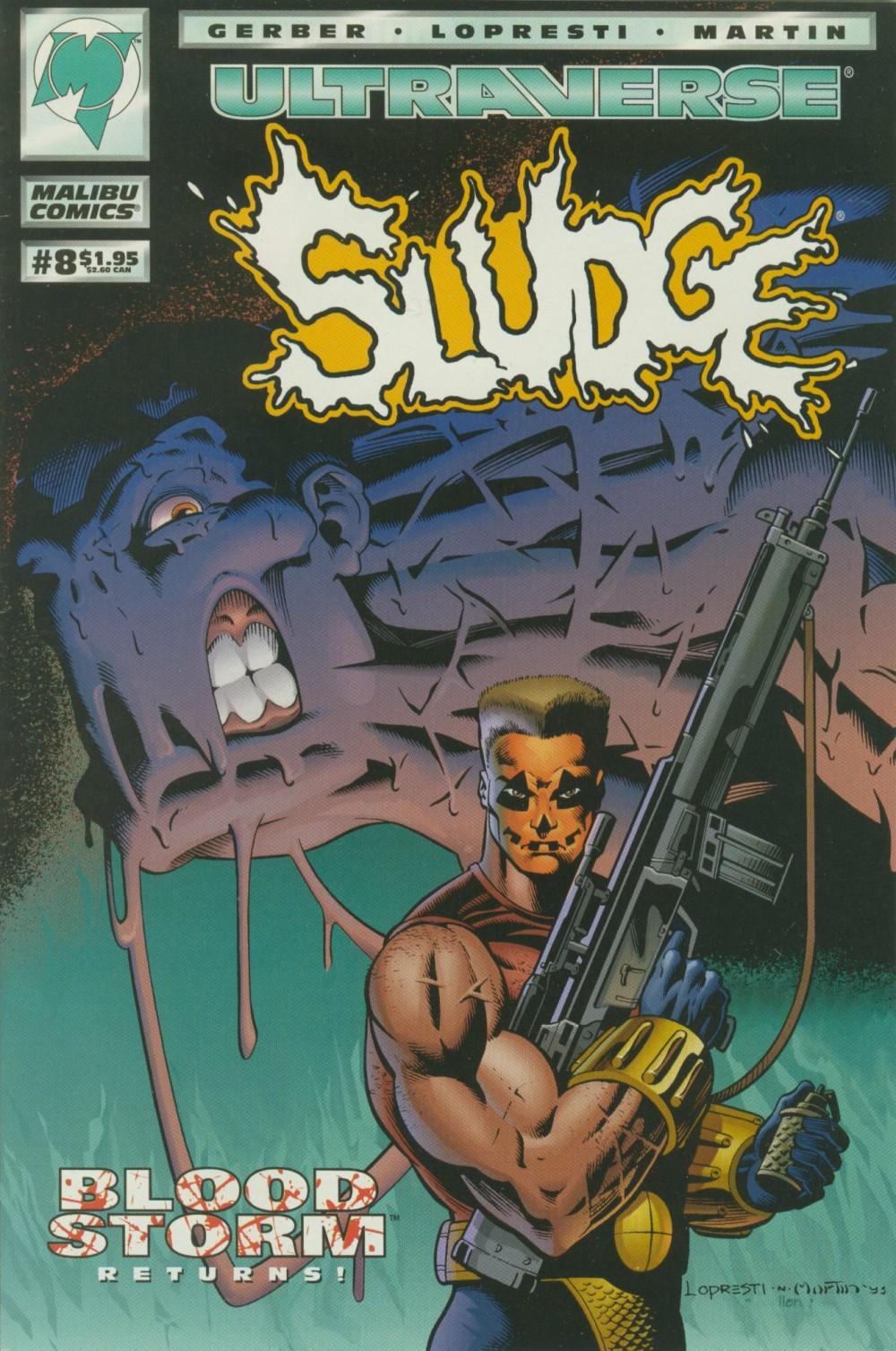 Read online Sludge comic -  Issue #8 - 1
