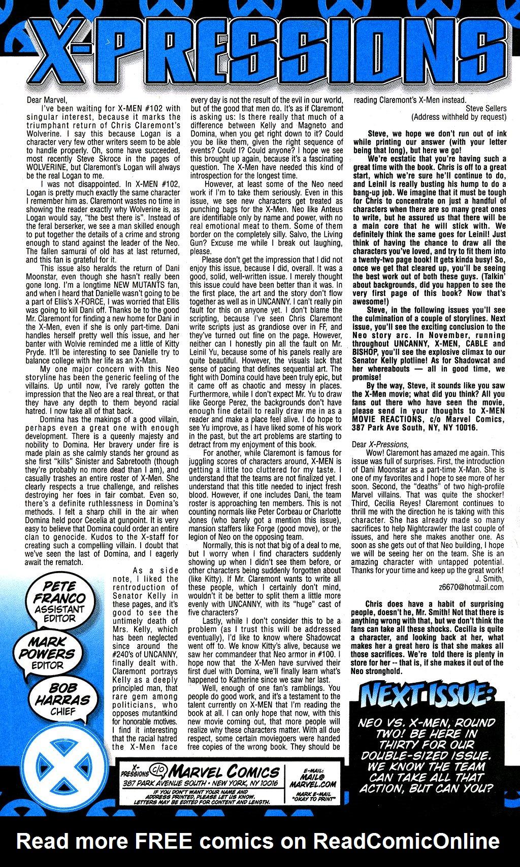 X-Men (1991) 105 Page 23
