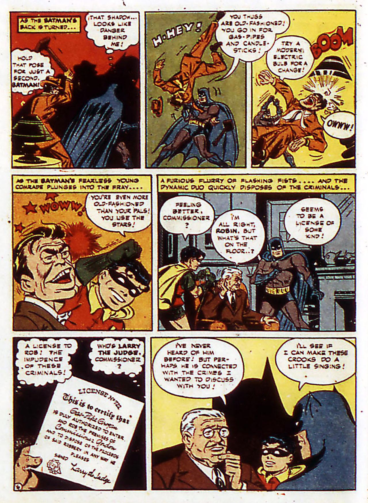 Read online Detective Comics (1937) comic -  Issue #72 - 9