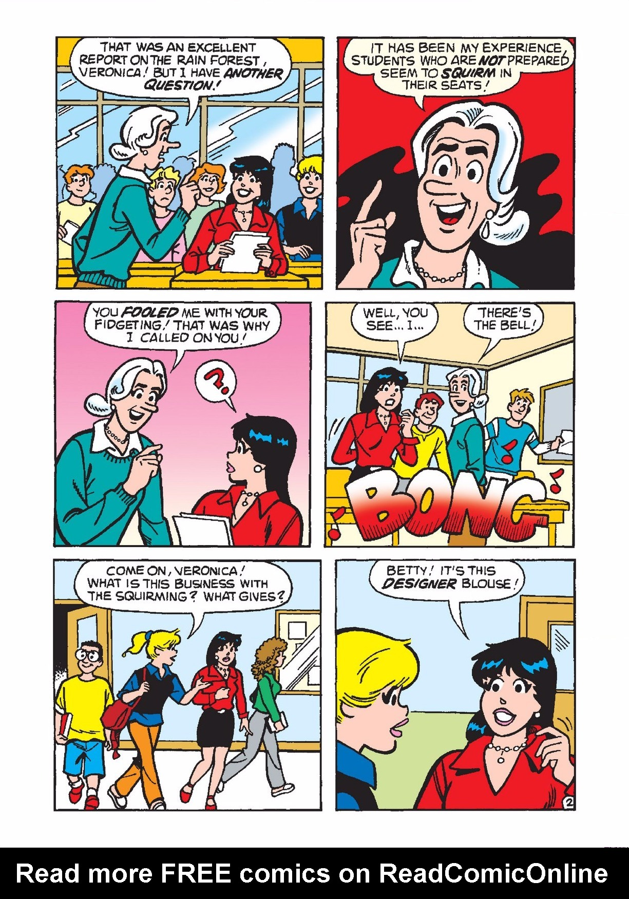 Read online Archie 1000 Page Comics Bonanza comic -  Issue #3 (Part 1) - 142