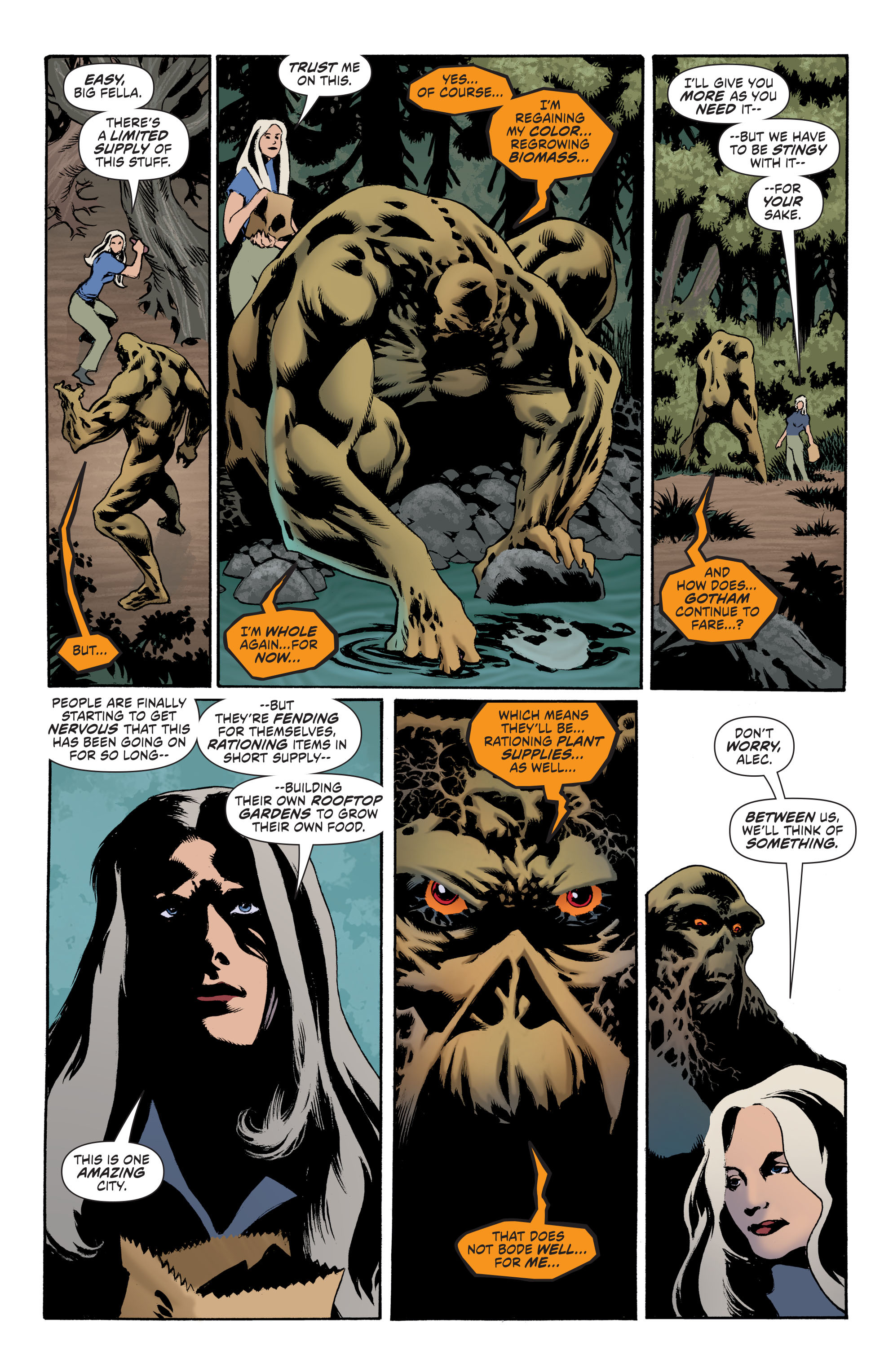 Read online Convergence Swamp Thing comic -  Issue #1 - 18