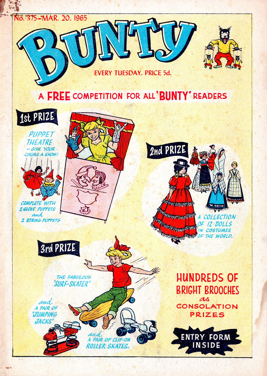 Bunty issue 375 - Page 1