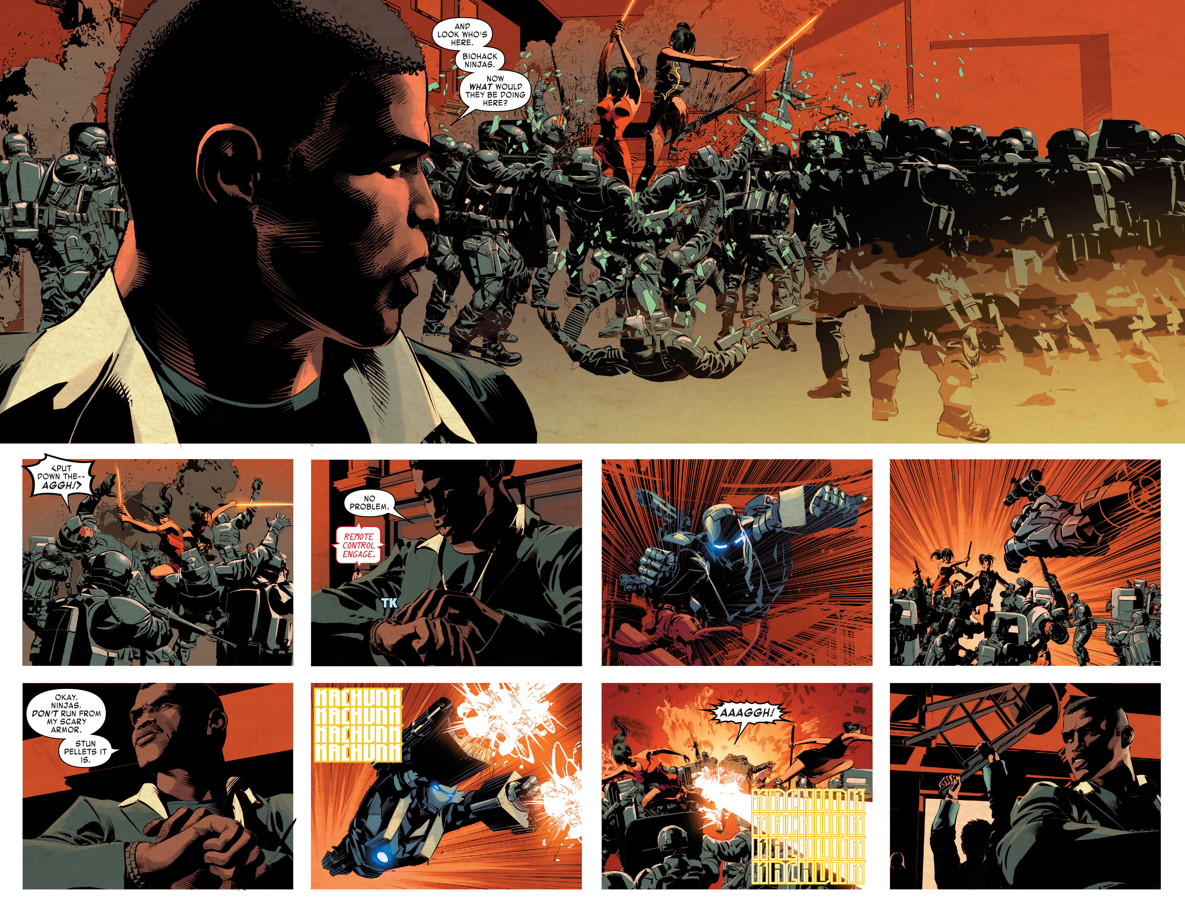 Read online True Believers: Invincible Iron Man-The War Machines comic -  Issue # Full - 78