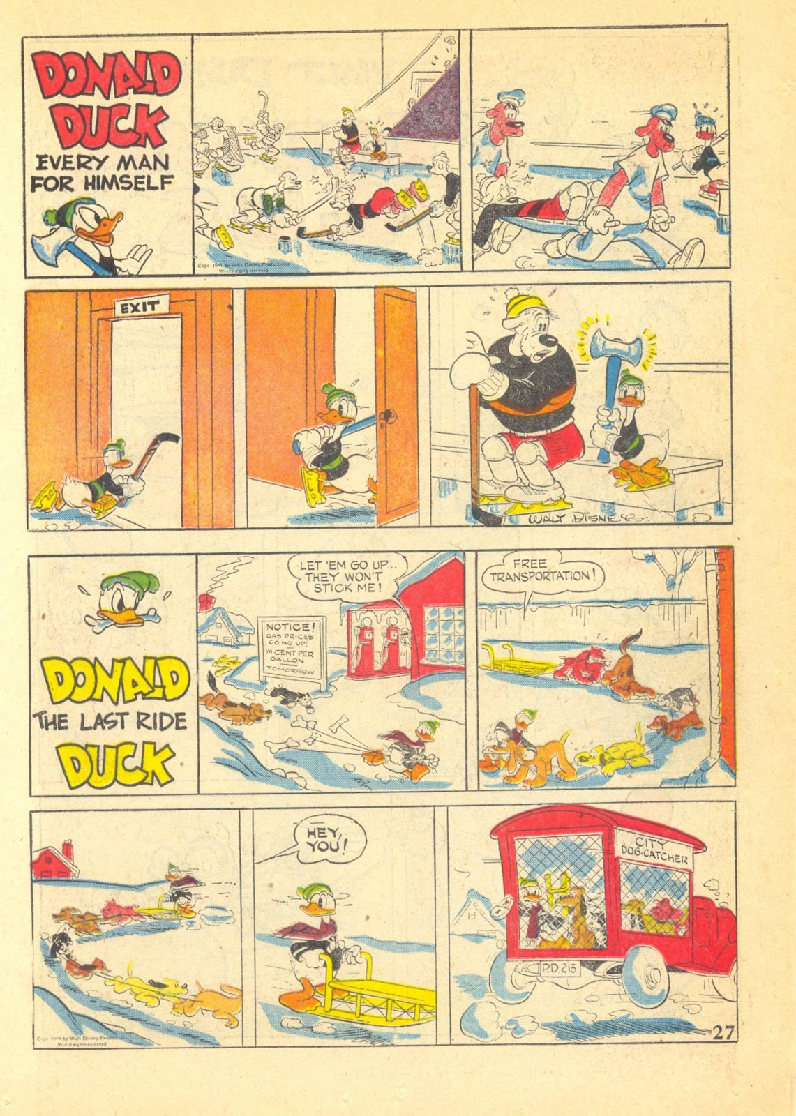 Walt Disney's Comics and Stories issue 40 - Page 29