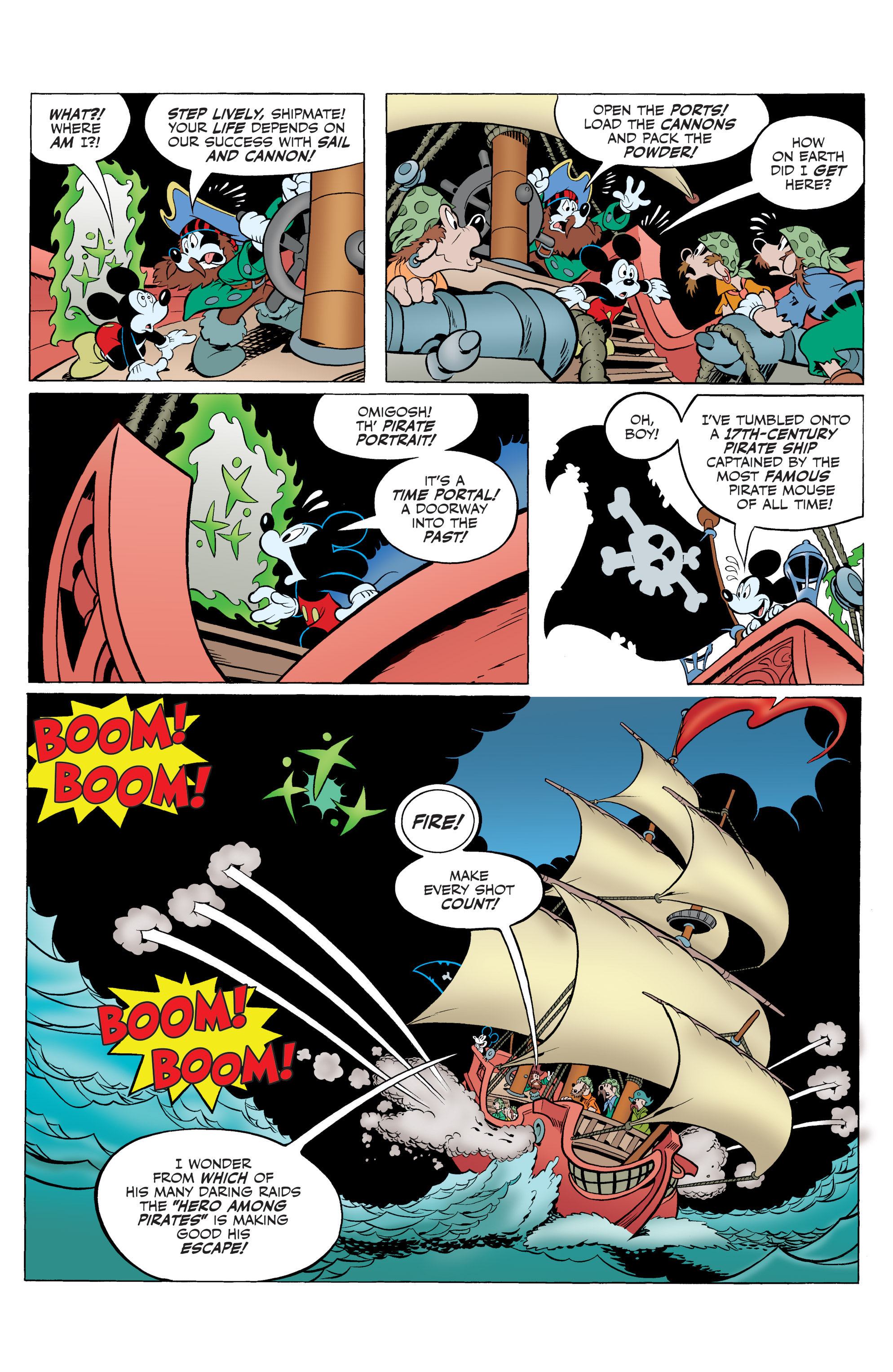 Read online Mickey Mouse (2015) comic -  Issue #20 - 27