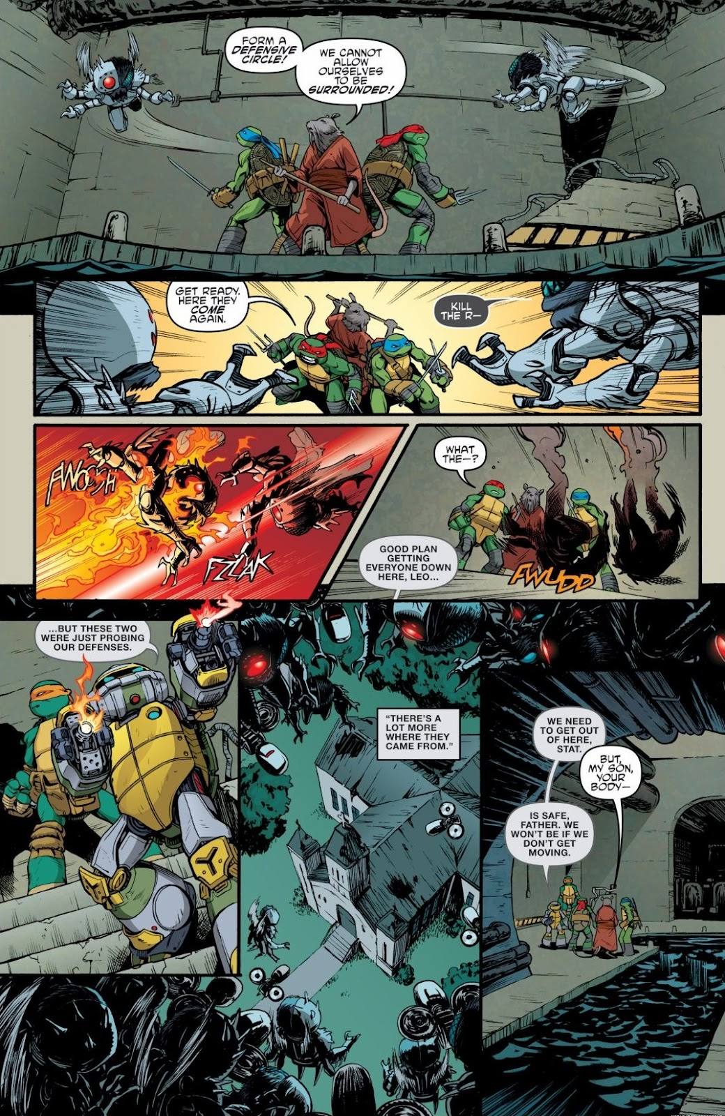 Read online Teenage Mutant Ninja Turtles: The IDW Collection comic -  Issue # TPB 6 (Part 3) - 6