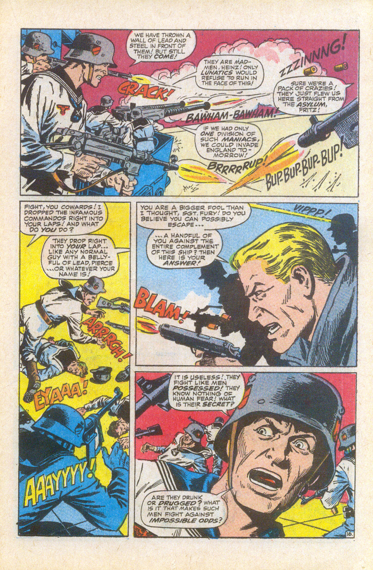 Read online Sgt. Fury comic -  Issue #58 - 23