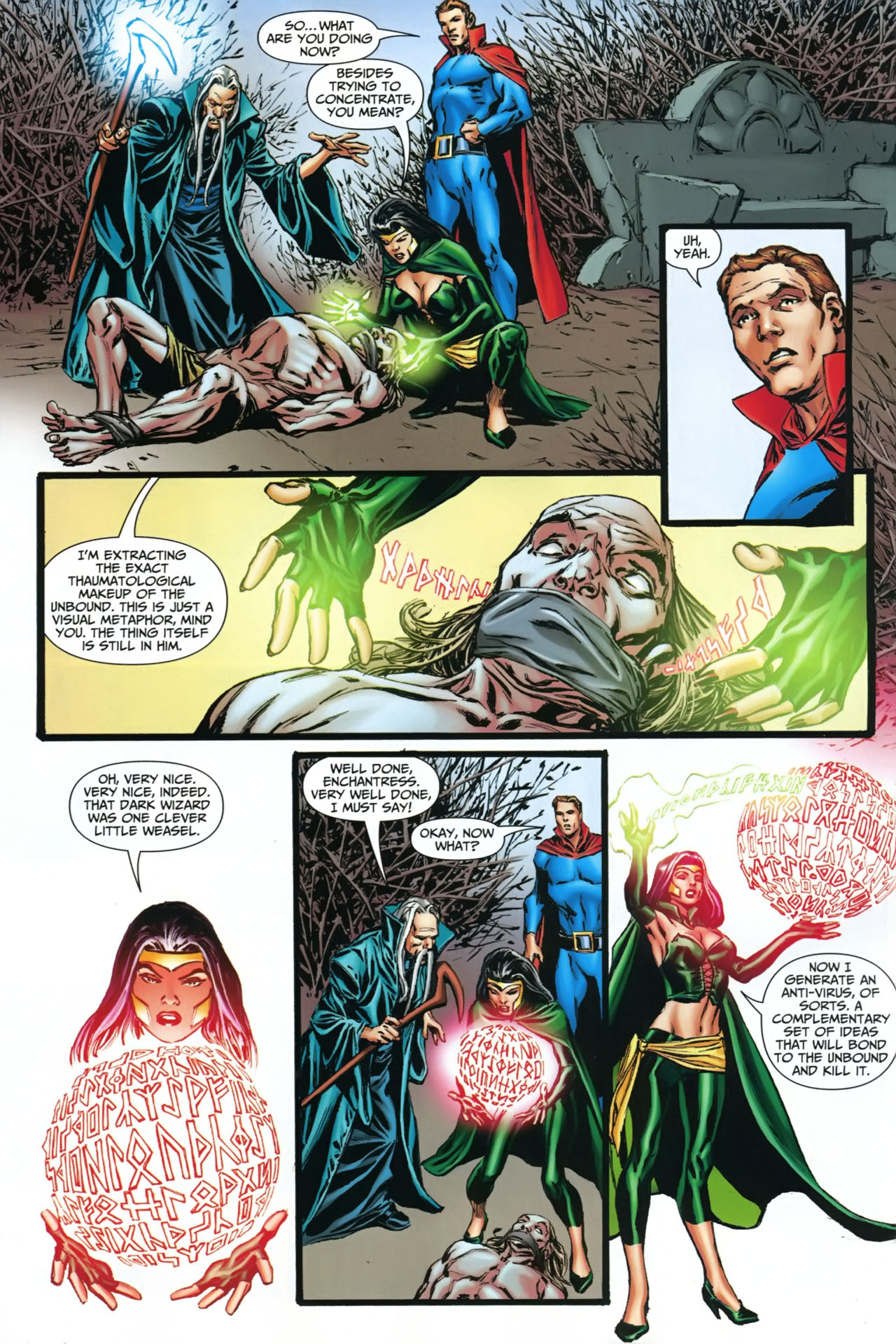 Read online Shadowpact comic -  Issue #22 - 12