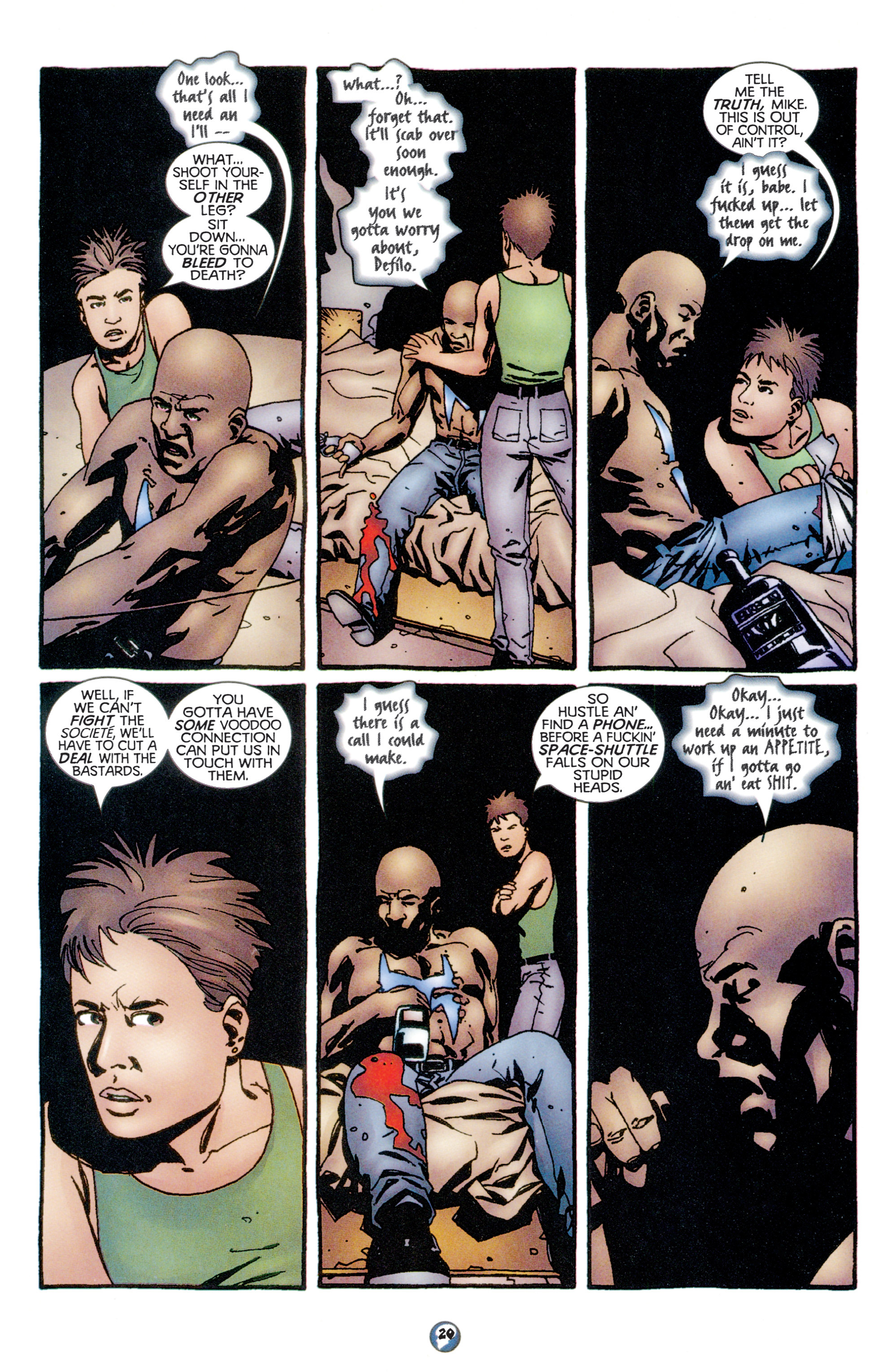 Read online Shadowman (1997) comic -  Issue #11 - 16