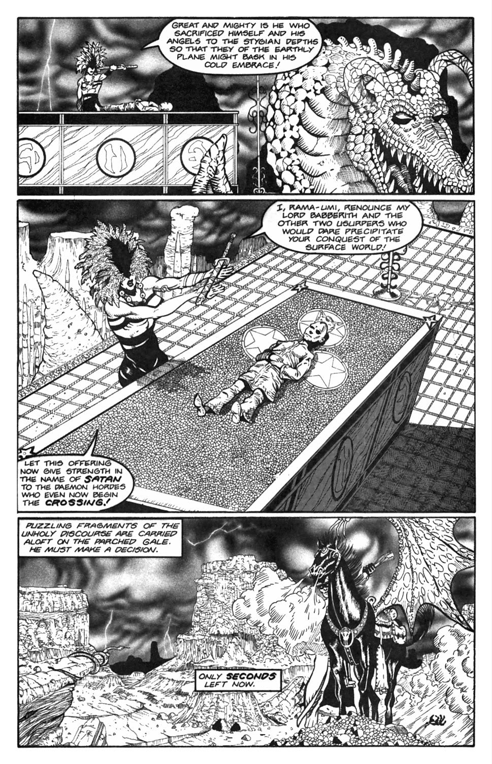 Read online Gunfighters in Hell comic -  Issue #2 - 18