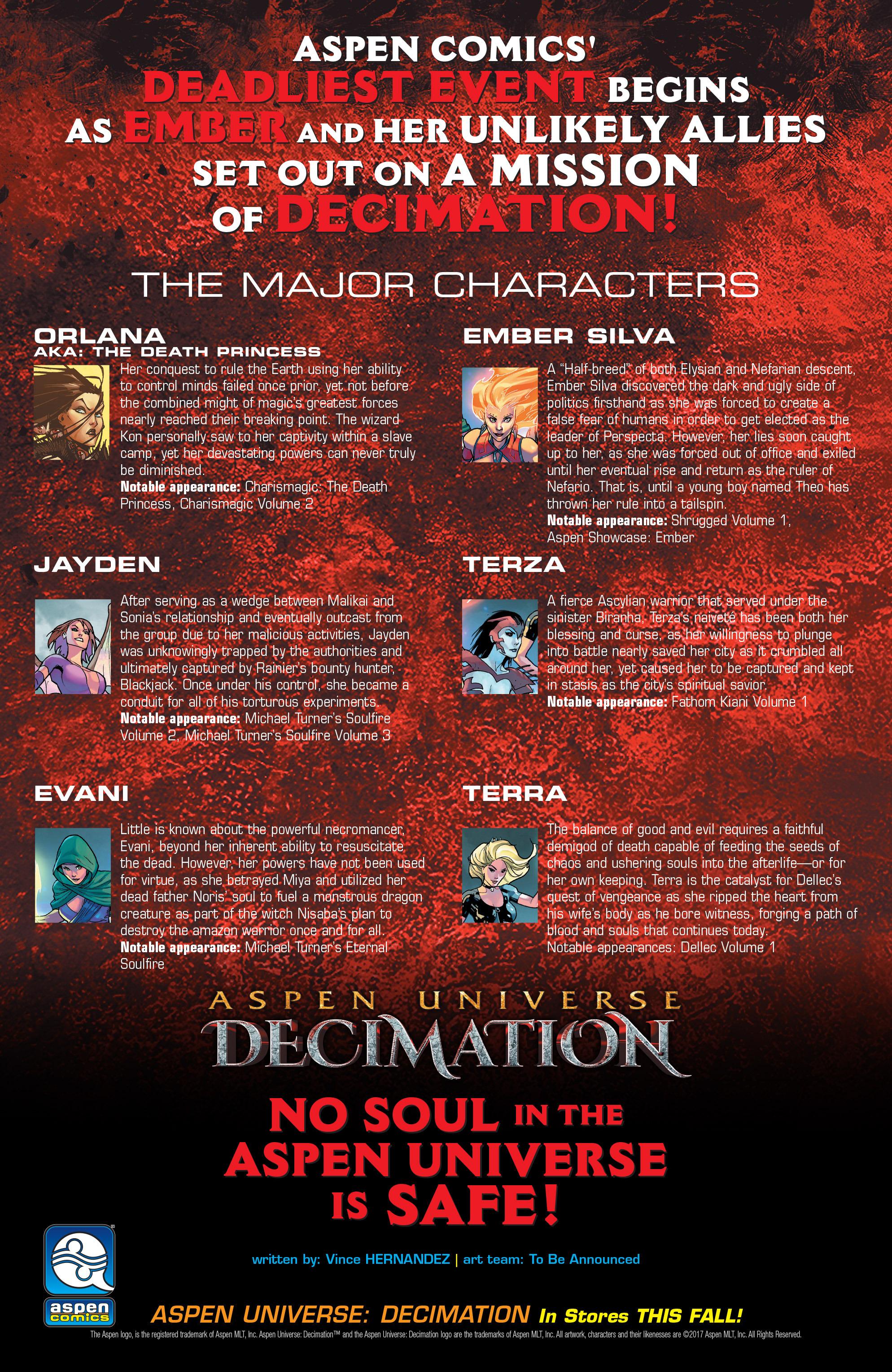 Read online Aspen Universe: Decimation comic -  Issue # Full - 22