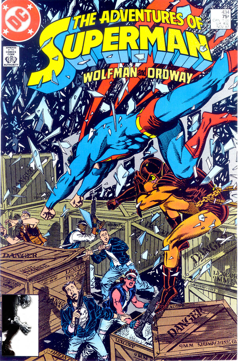 Read online Adventures of Superman (1987) comic -  Issue #434 - 1