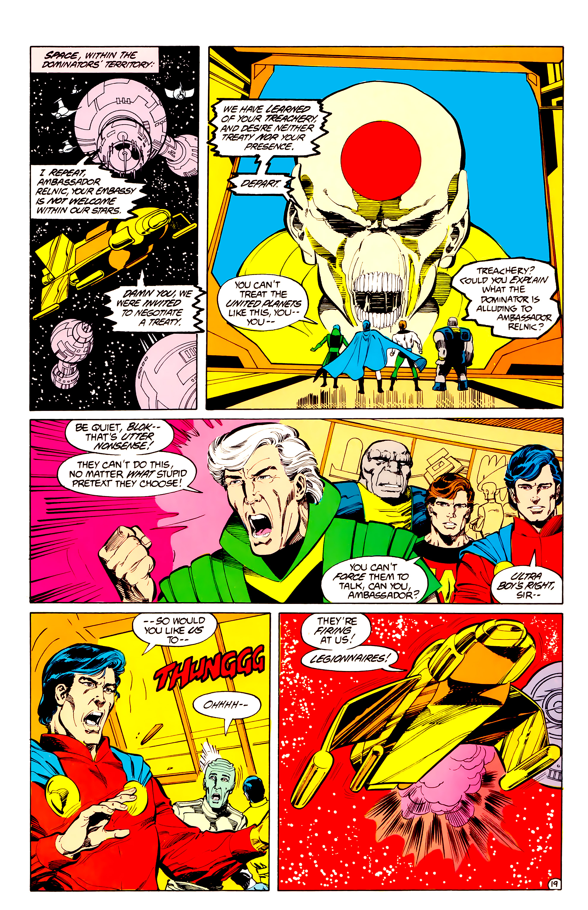 Legion of Super-Heroes (1984) 33 Page 19