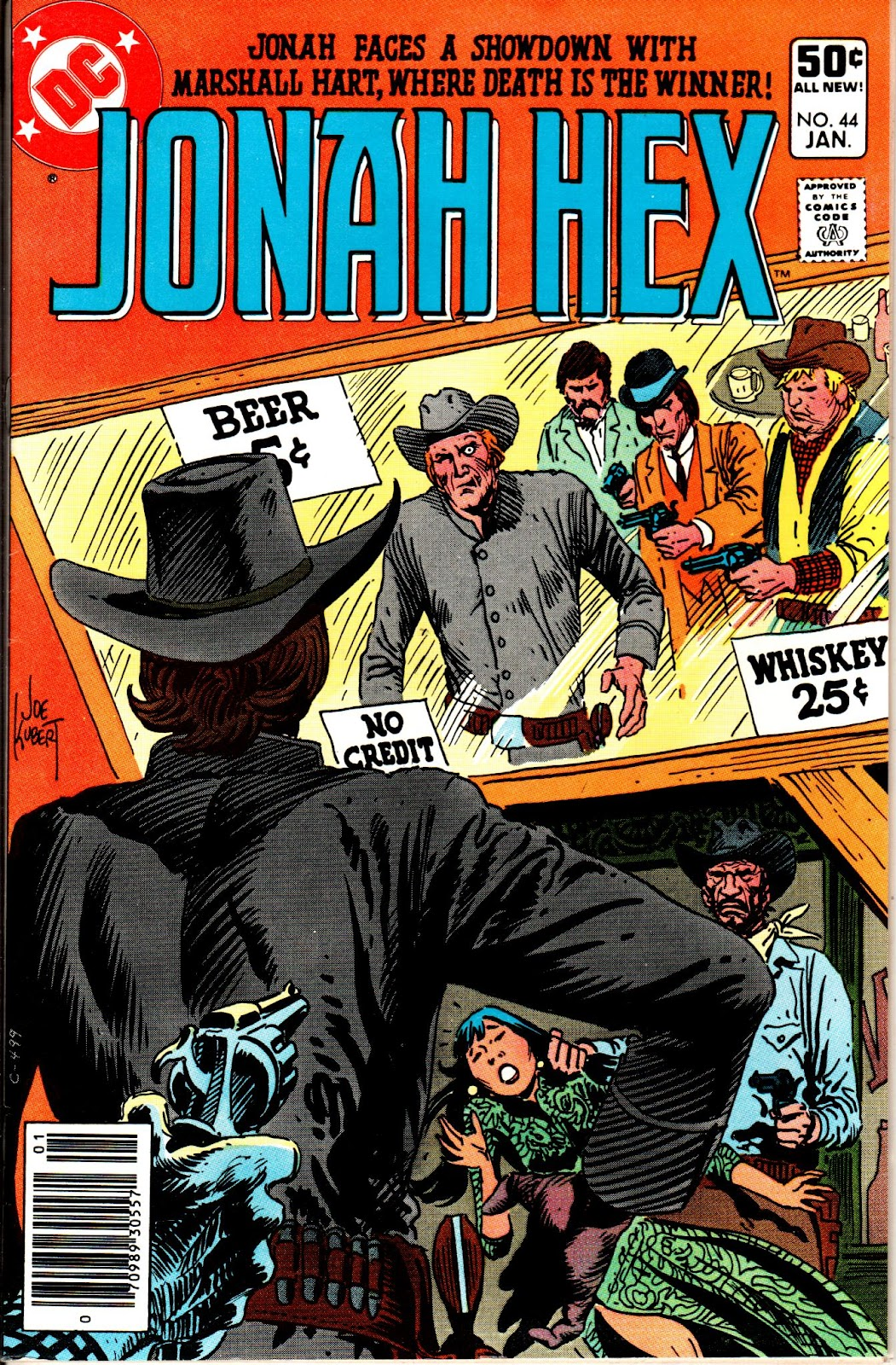 Jonah Hex (1977) 44 Page 1