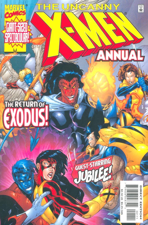 Uncanny X-Men (1963) _Annual_1999 Page 1