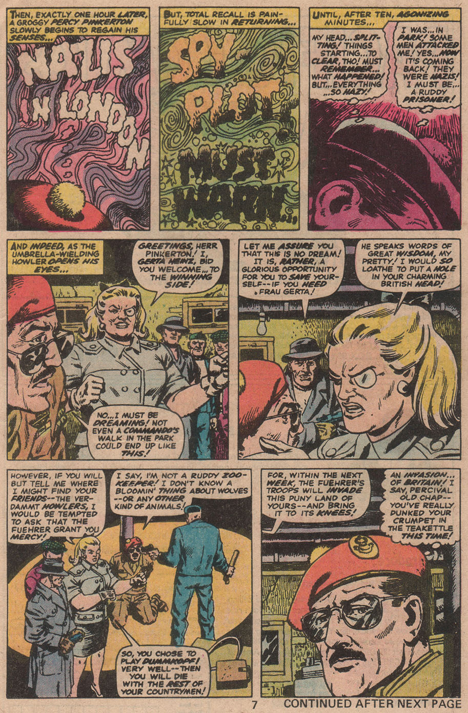 Read online Sgt. Fury comic -  Issue #142 - 9