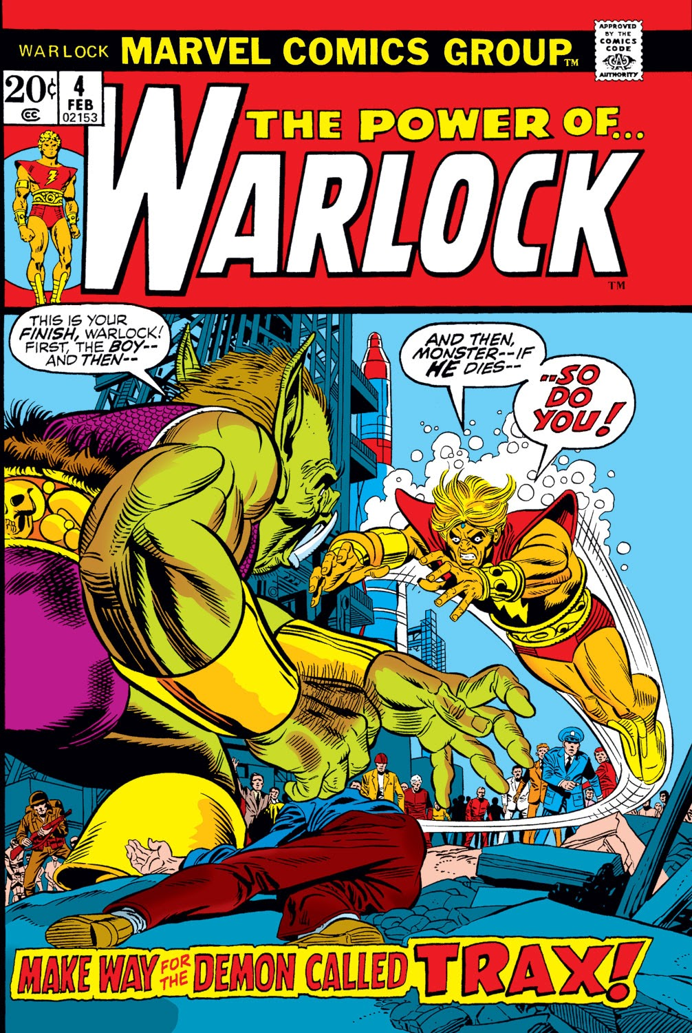 Warlock (1972) issue 4 - Page 1