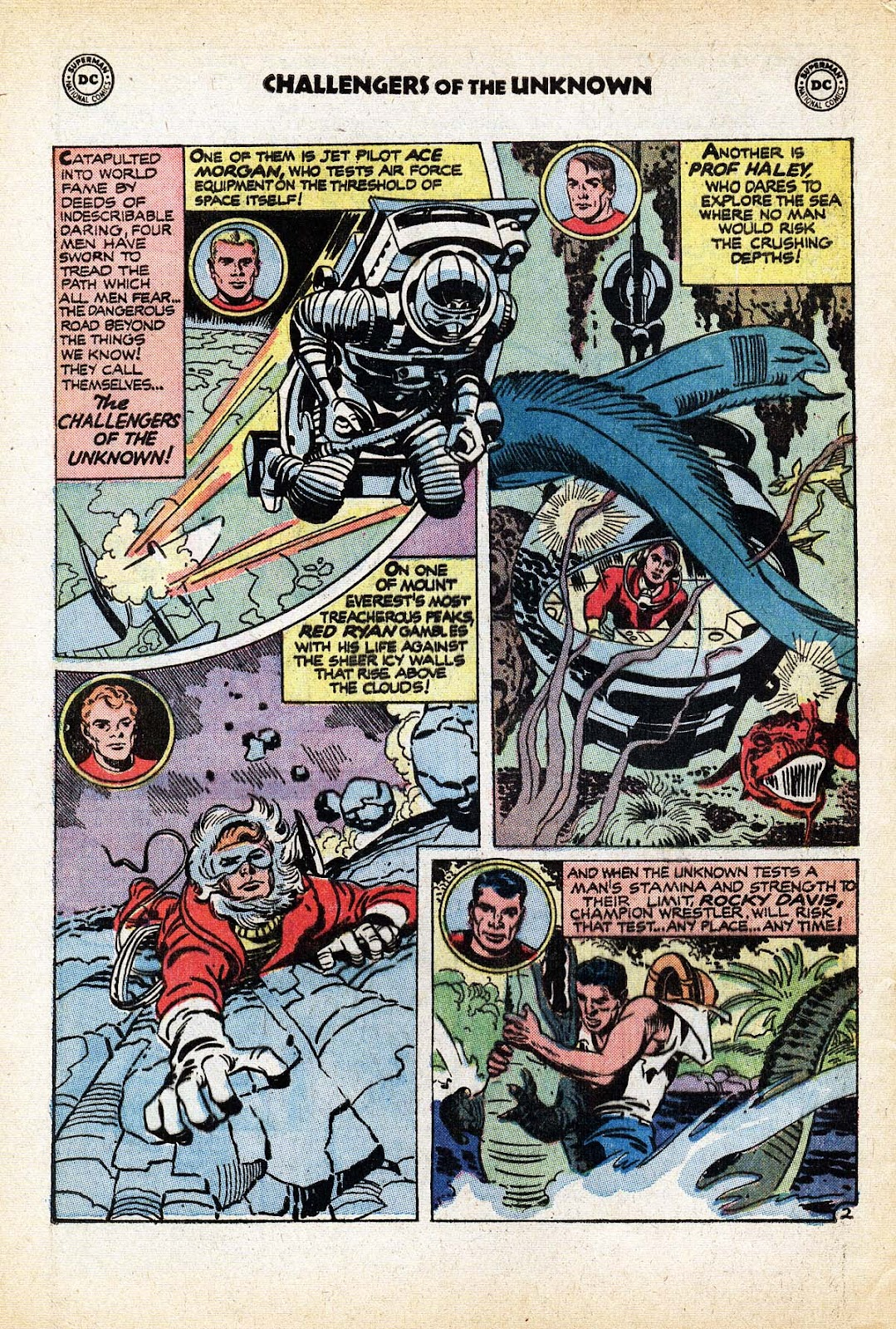 Challengers of the Unknown (1958) issue 80 - Page 4