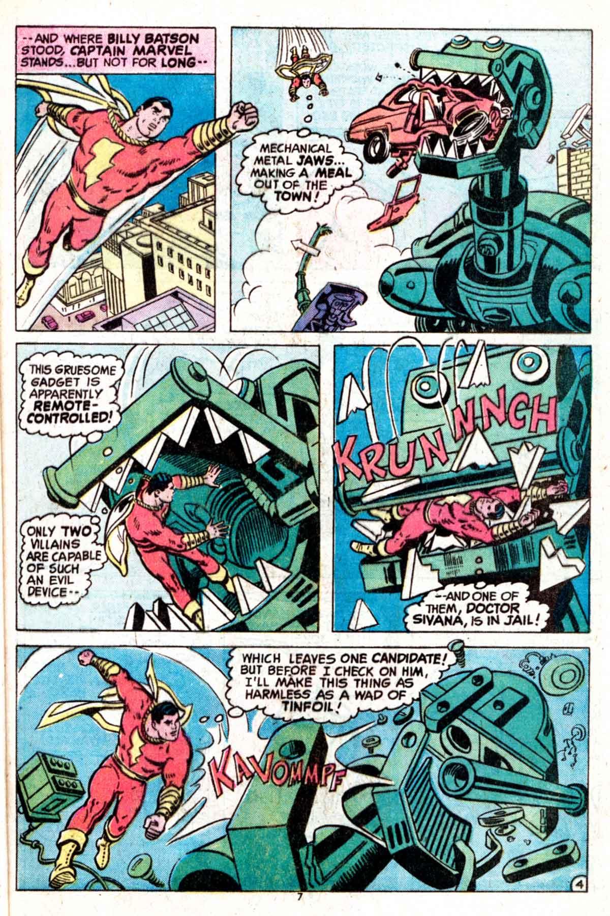 Read online Shazam! (1973) comic -  Issue #15 - 7