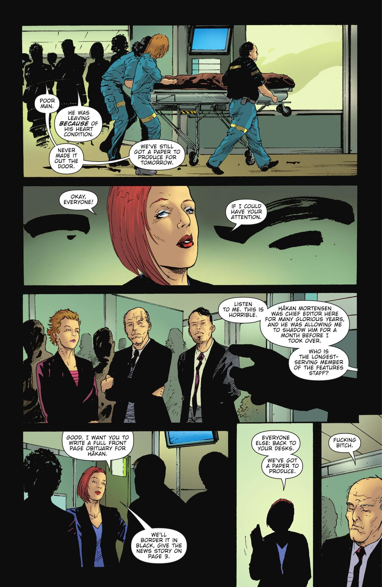 Read online The Girl Who Kicked The Hornet's Nest comic -  Issue # TPB - 126