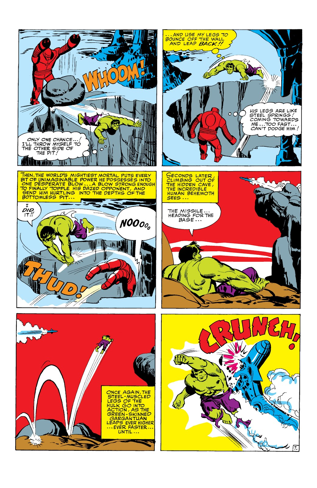 Read online Marvel Masterworks: The Incredible Hulk comic -  Issue # TPB 2 (Part 1) - 41
