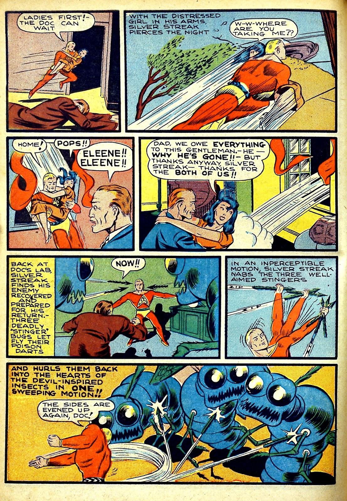 Read online Silver Streak Comics comic -  Issue #22 - 8