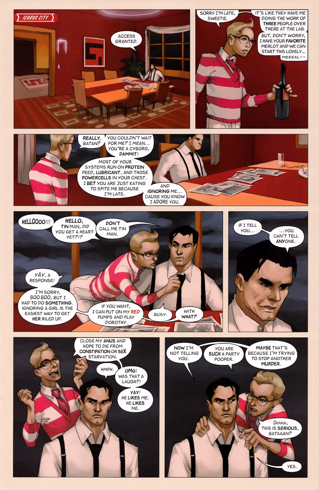 Read online Vescell comic -  Issue #6 - 15