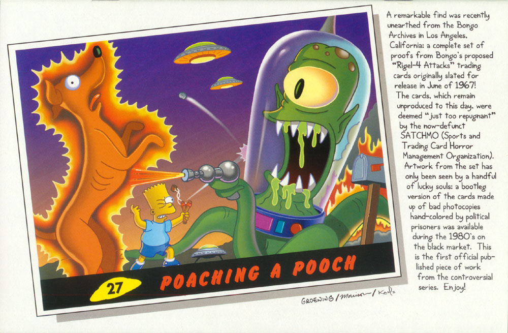 Read online Treehouse of Horror comic -  Issue #2 - 30