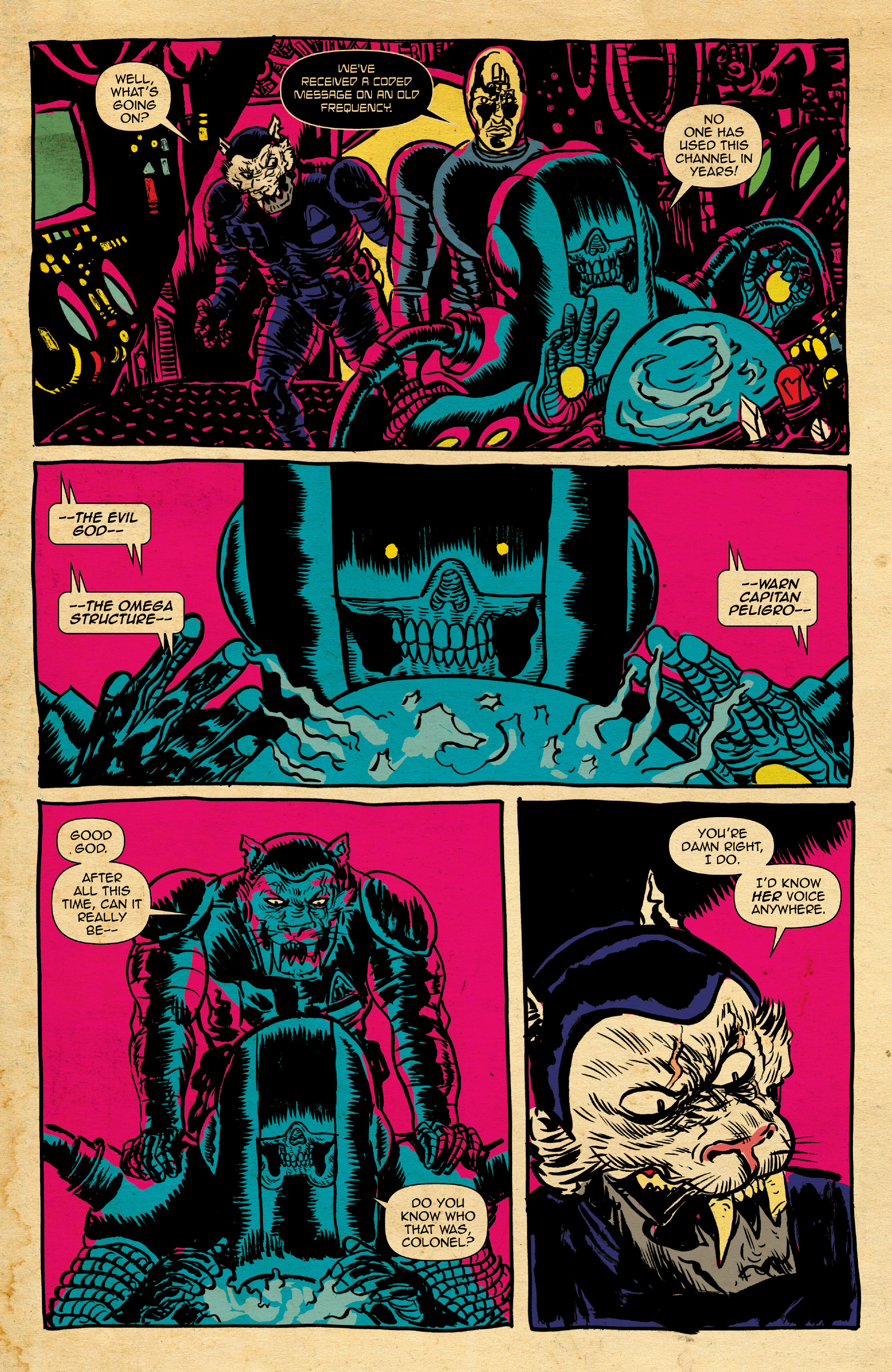 Read online Space Riders: Galaxy of Brutality comic -  Issue #2 - 6