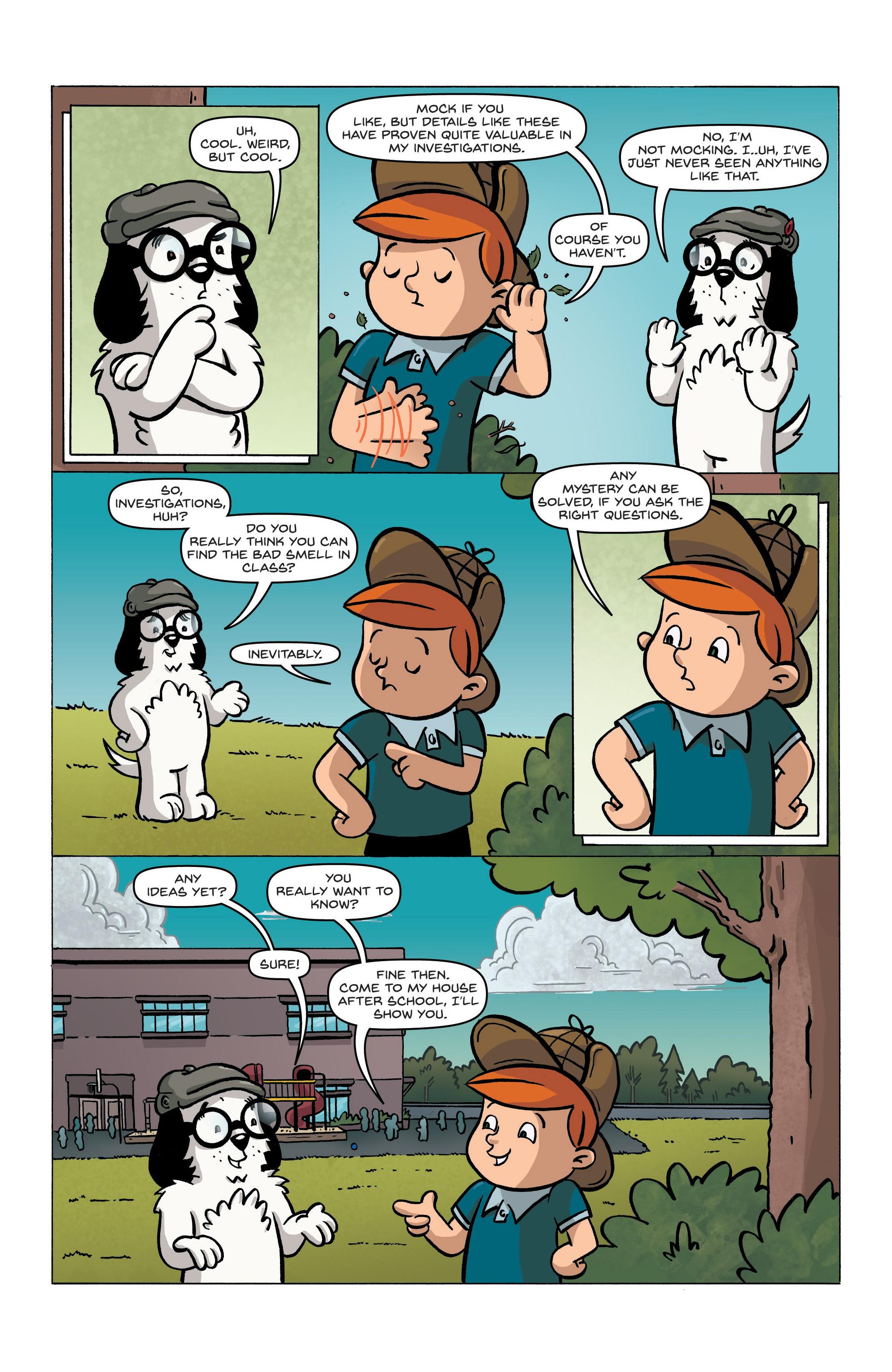 Read online Kid Sherlock comic -  Issue #1 - 12