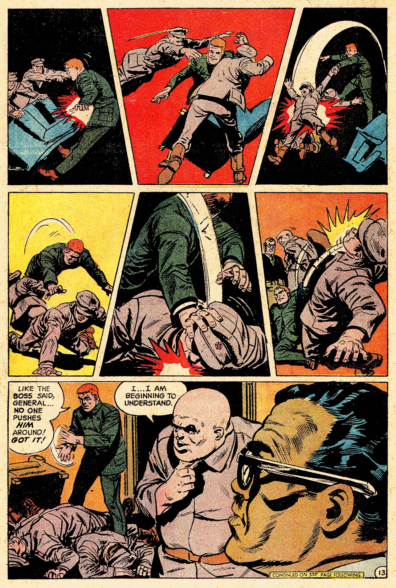 Read online Secret Six (1968) comic -  Issue #5 - 17