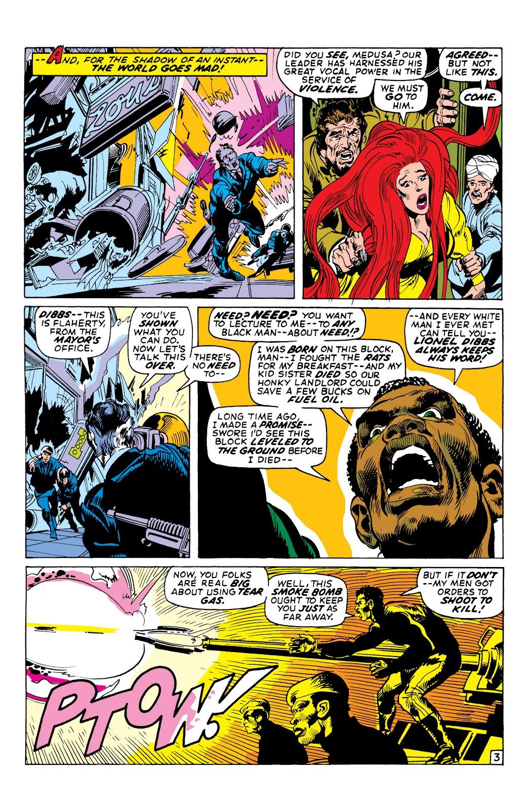 Read online Marvel Masterworks: The Inhumans comic -  Issue # TPB 1 (Part 2) - 49