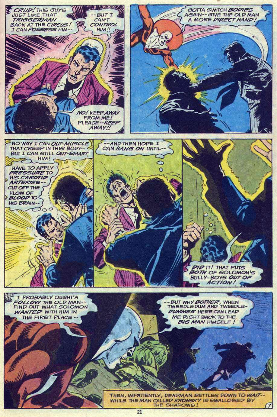 Read online Adventure Comics (1938) comic -  Issue #461 - 21