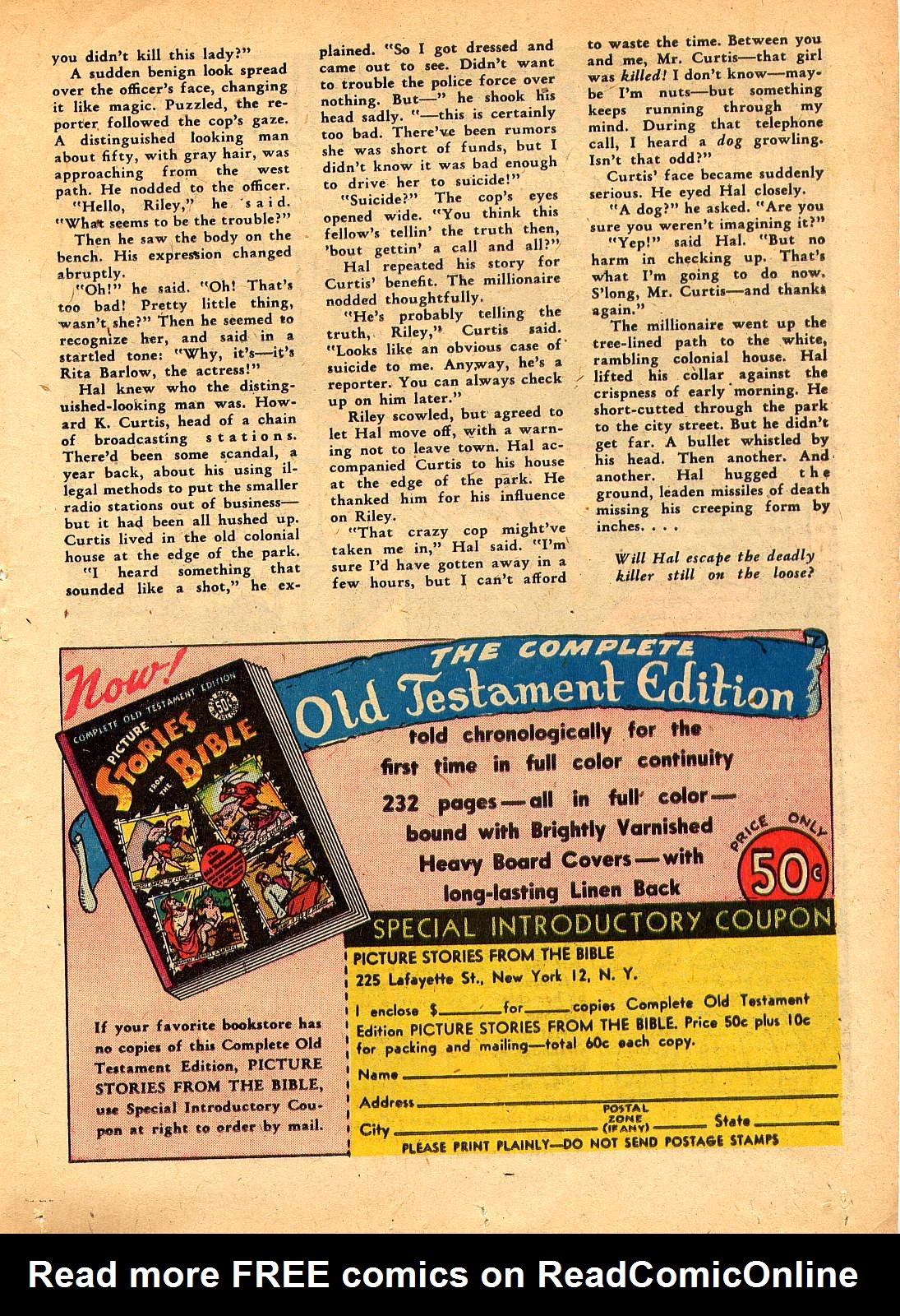Read online Sensation (Mystery) Comics comic -  Issue #30 - 41