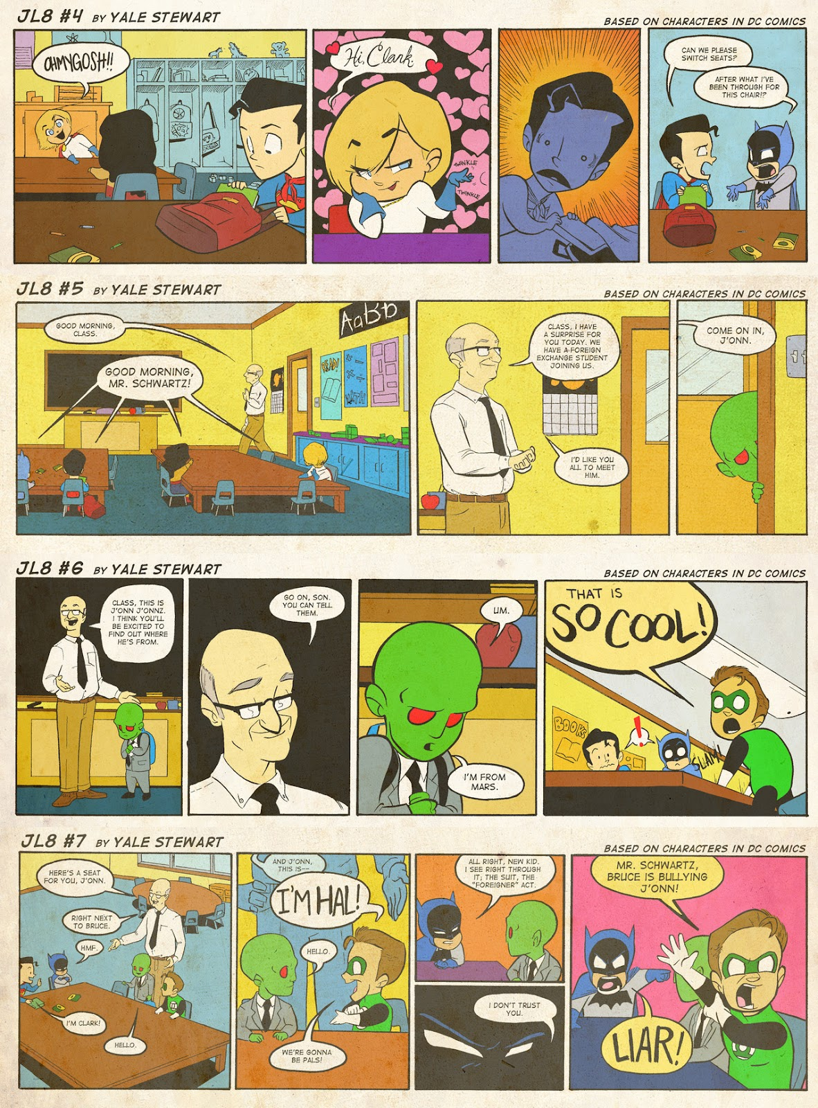 Read online JL8 – The Complete Collection comic -  Issue # TPB (Part 1) - 4
