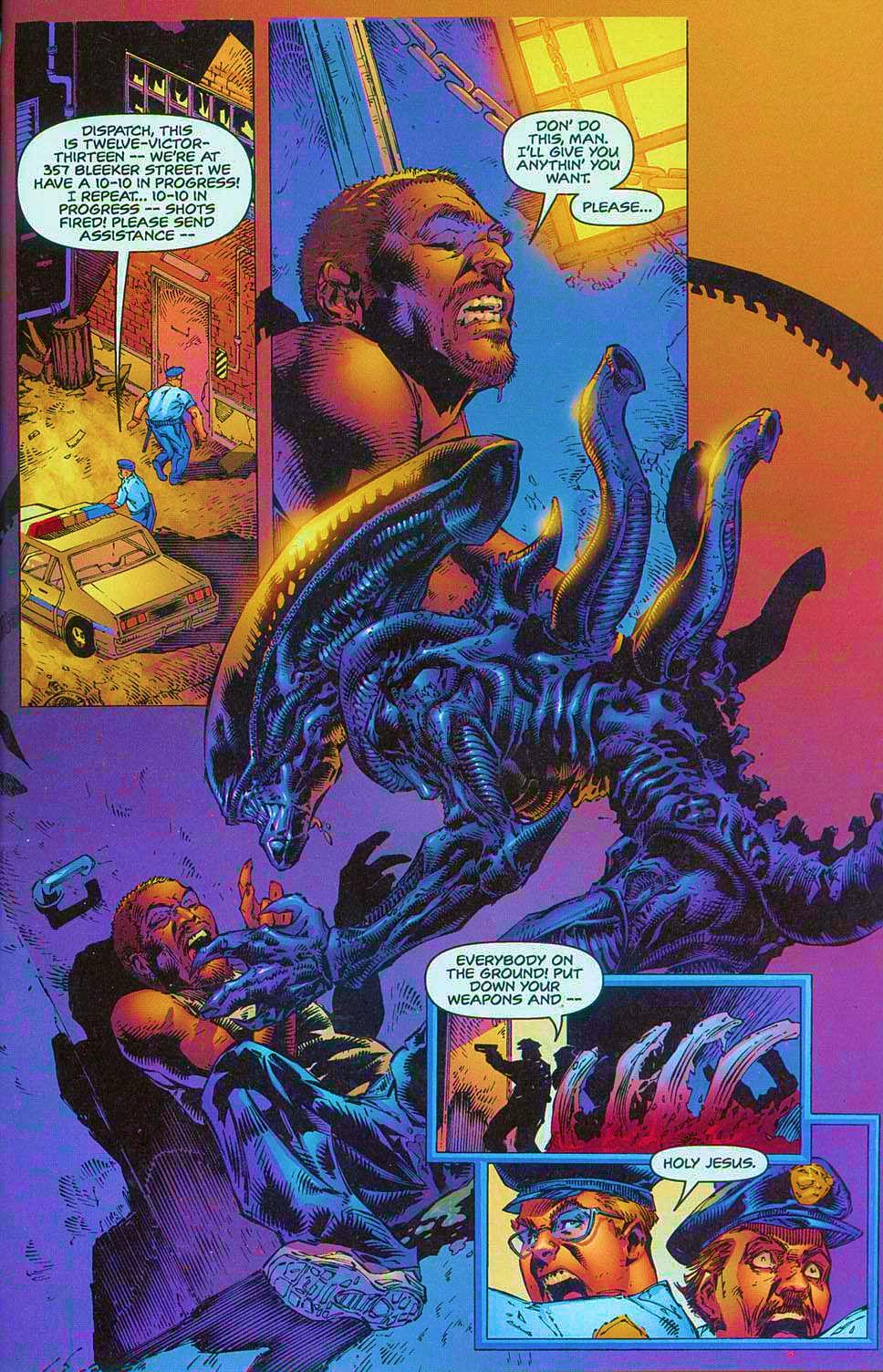 Read online Overkill: Witchblade/Aliens/Darkness/Predator comic -  Issue #1 - 11