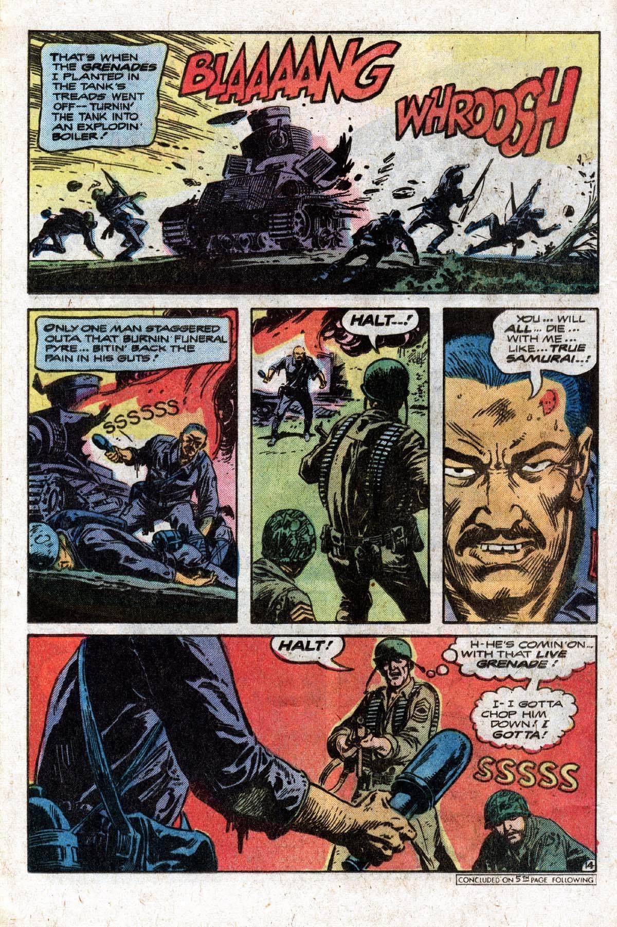 Read online Sgt. Rock comic -  Issue #320 - 17