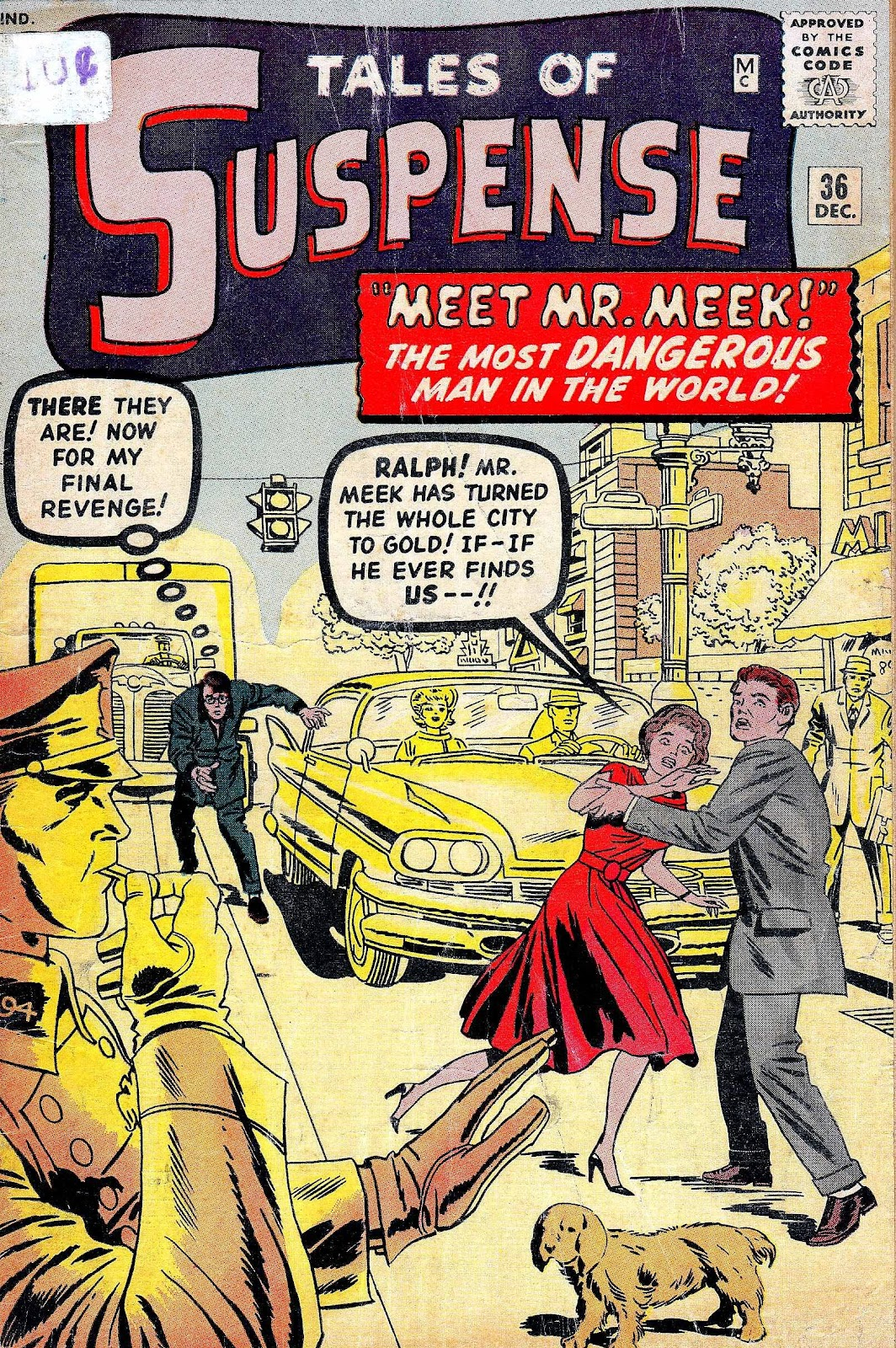 Tales of Suspense (1959) issue 36 - Page 1
