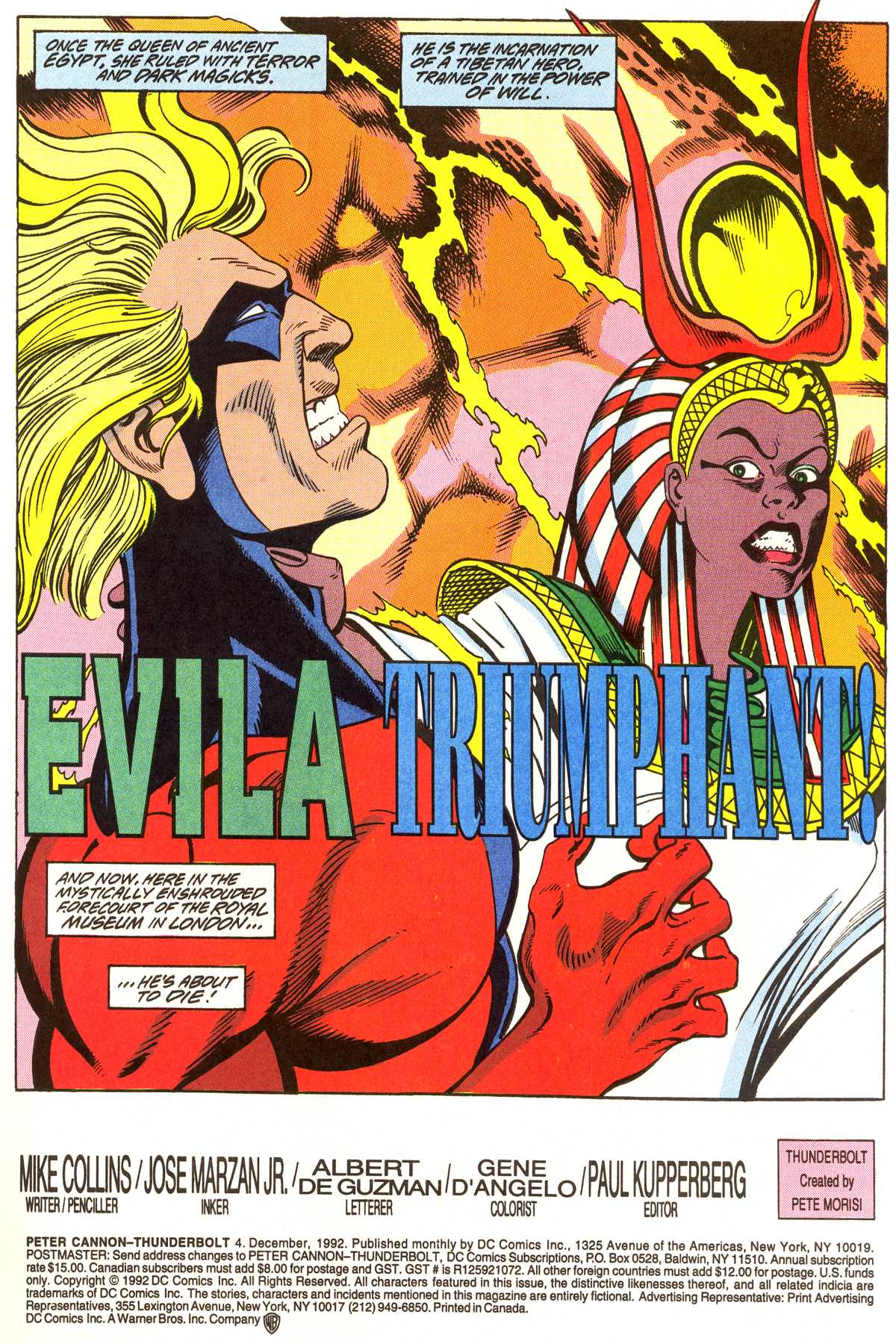 Read online Peter Cannon--Thunderbolt (1992) comic -  Issue #4 - 2