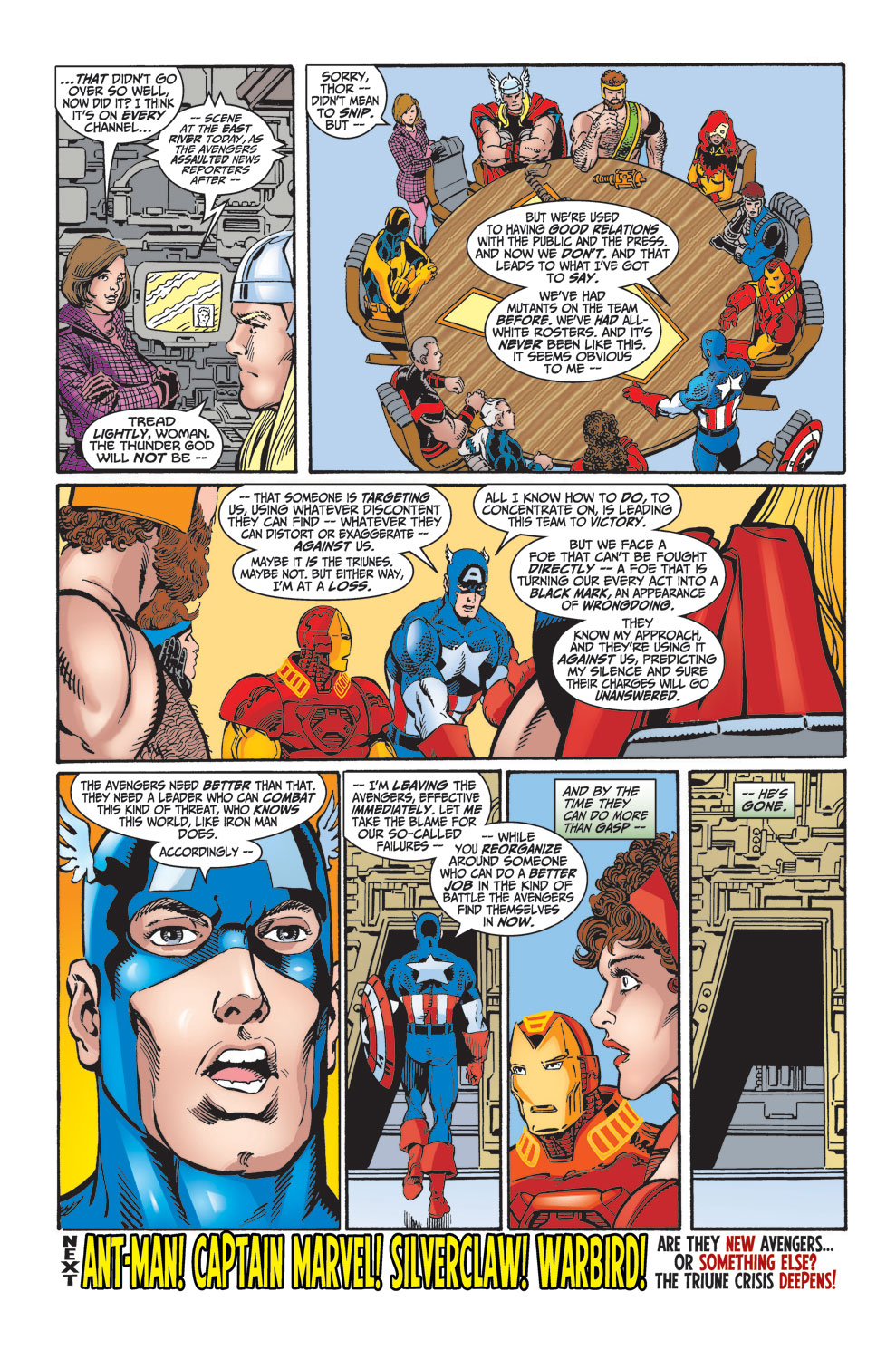 Read online Avengers (1998) comic -  Issue #25 - 38
