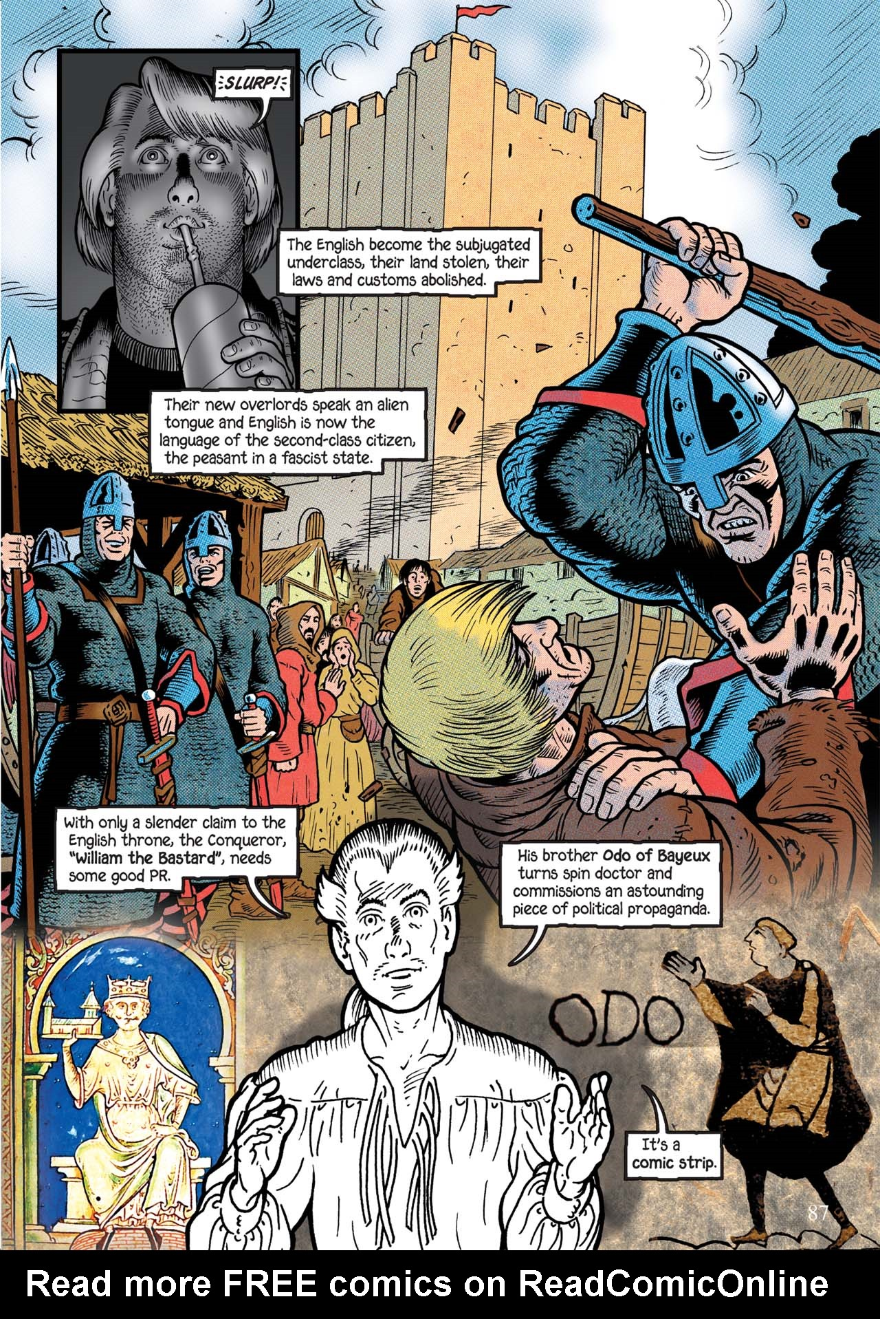 Read online Alice in Sunderland comic -  Issue # Full - 91