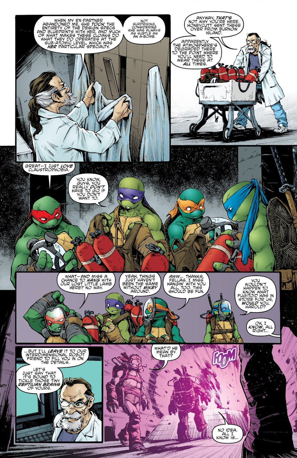 Read online Teenage Mutant Ninja Turtles: The IDW Collection comic -  Issue # TPB 7 (Part 2) - 25