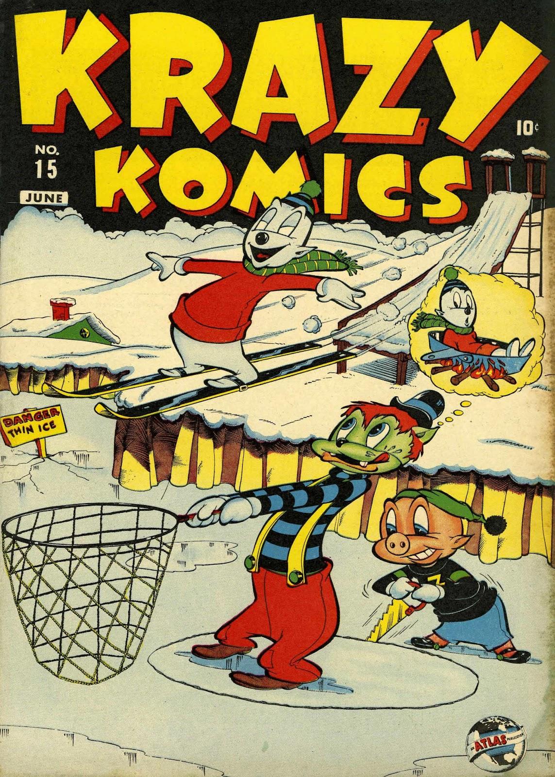 Krazy Komics (1942) issue 15 - Page 1