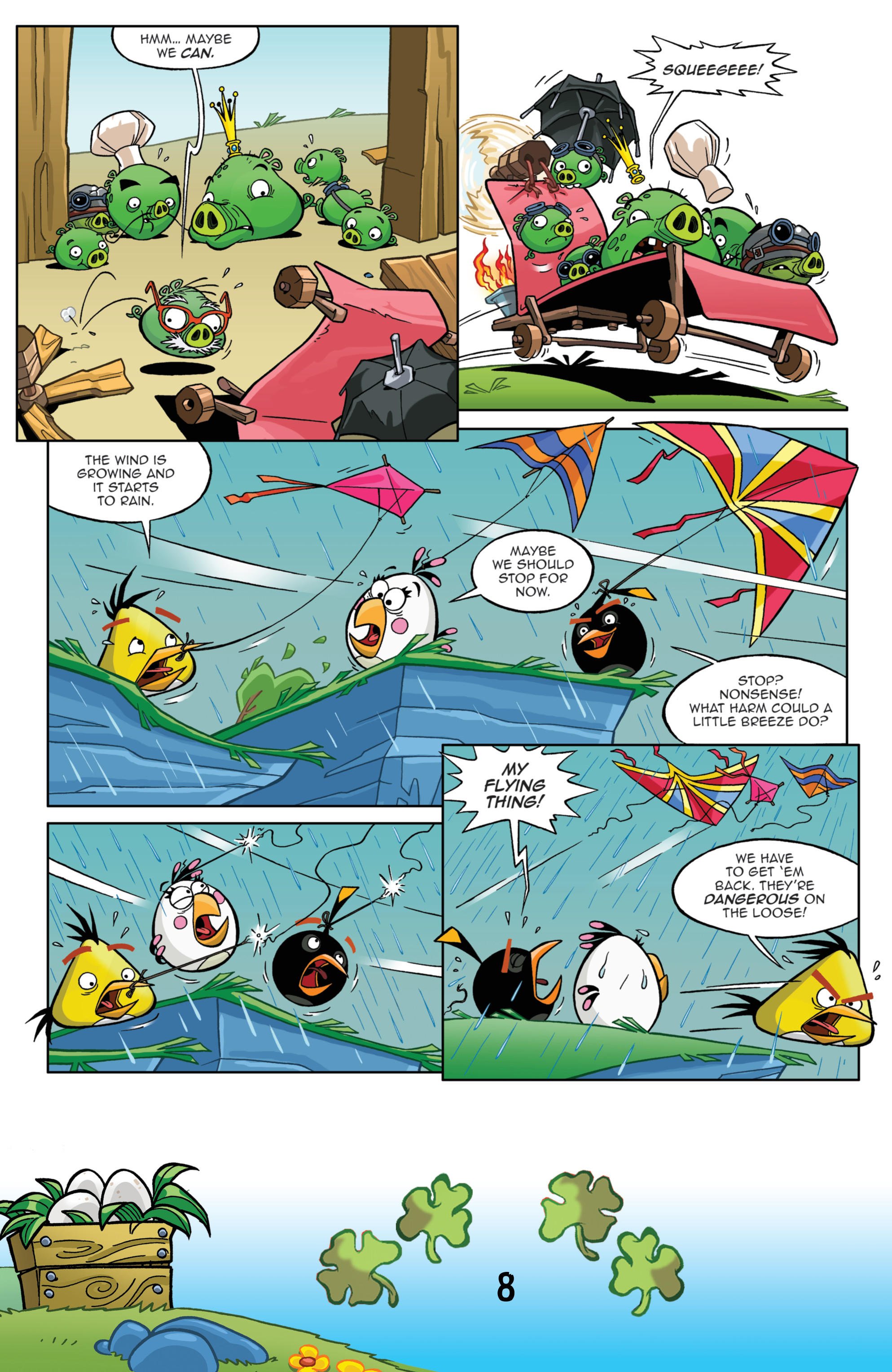 Read online Angry Birds Comics (2016) comic -  Issue #3 - 10