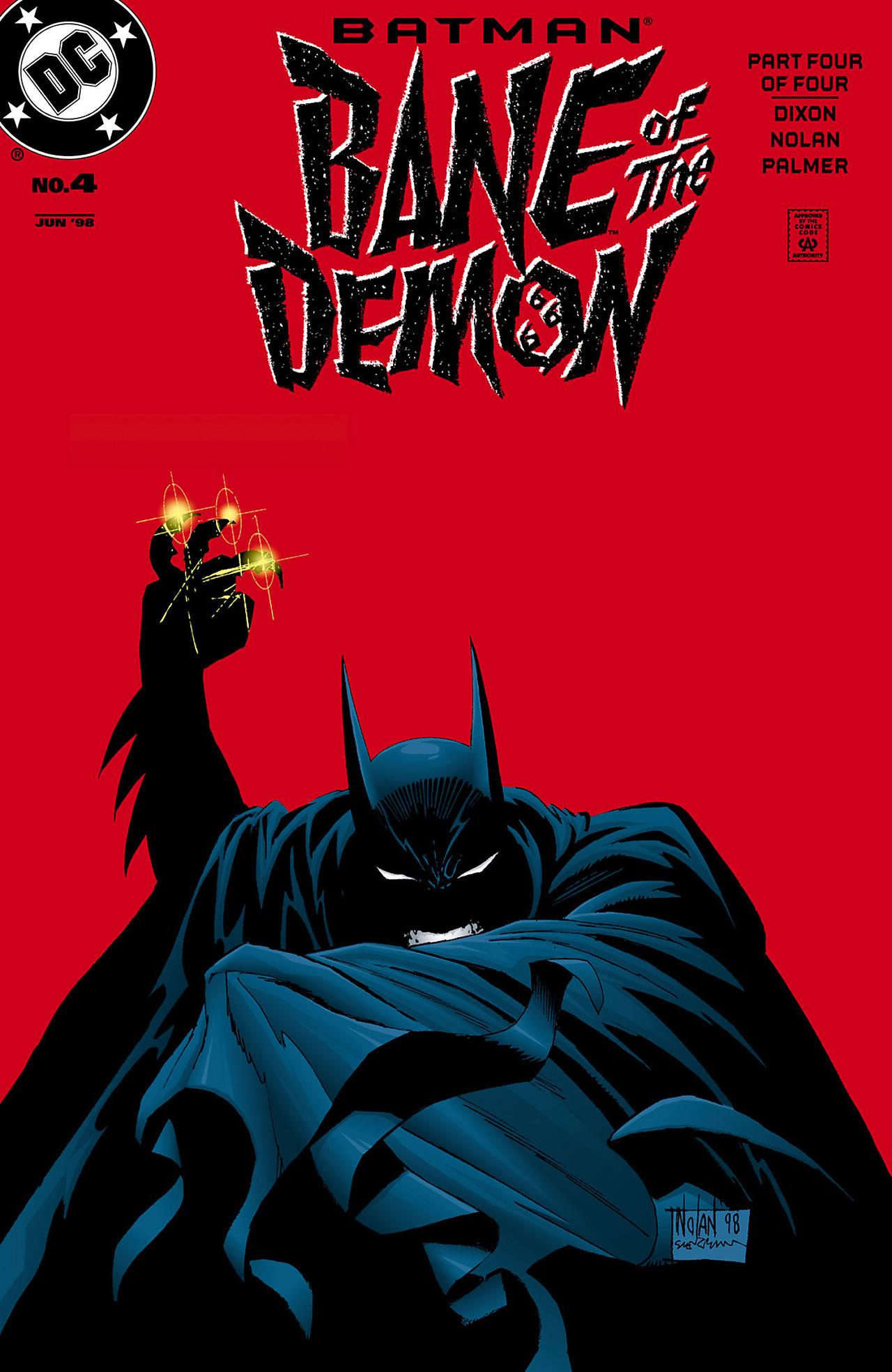 Batman: Bane of the Demon 4 Page 1