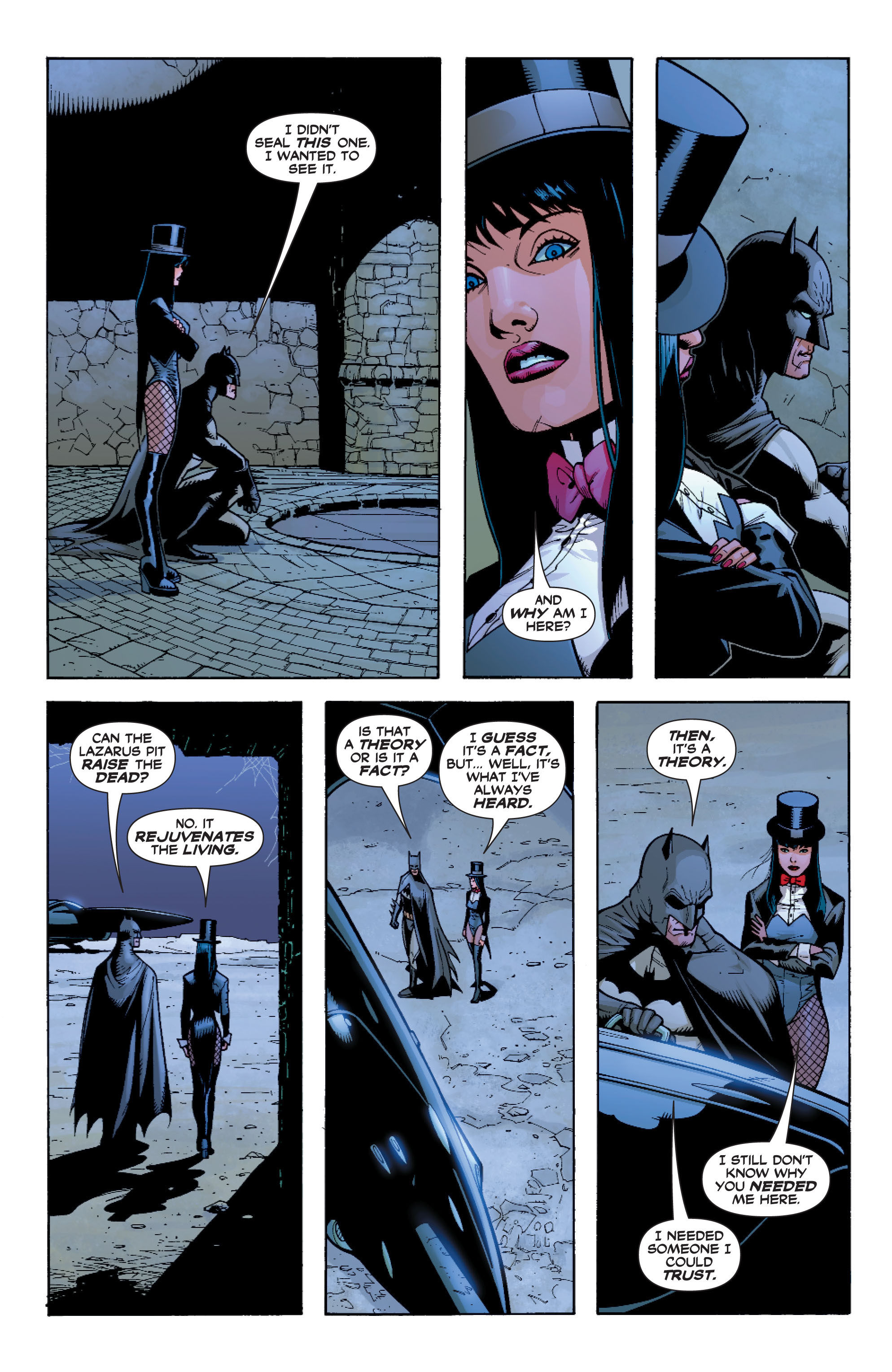 Read online Batman: Under The Red Hood comic -  Issue # Full - 110